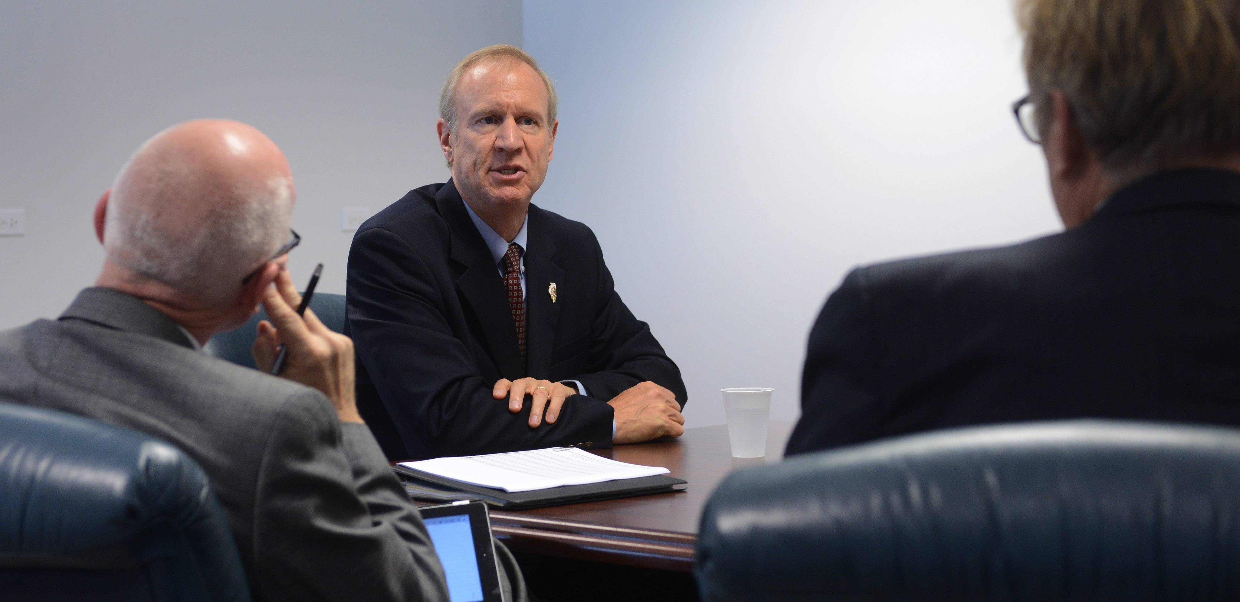 Bruce Rauner answers your questions