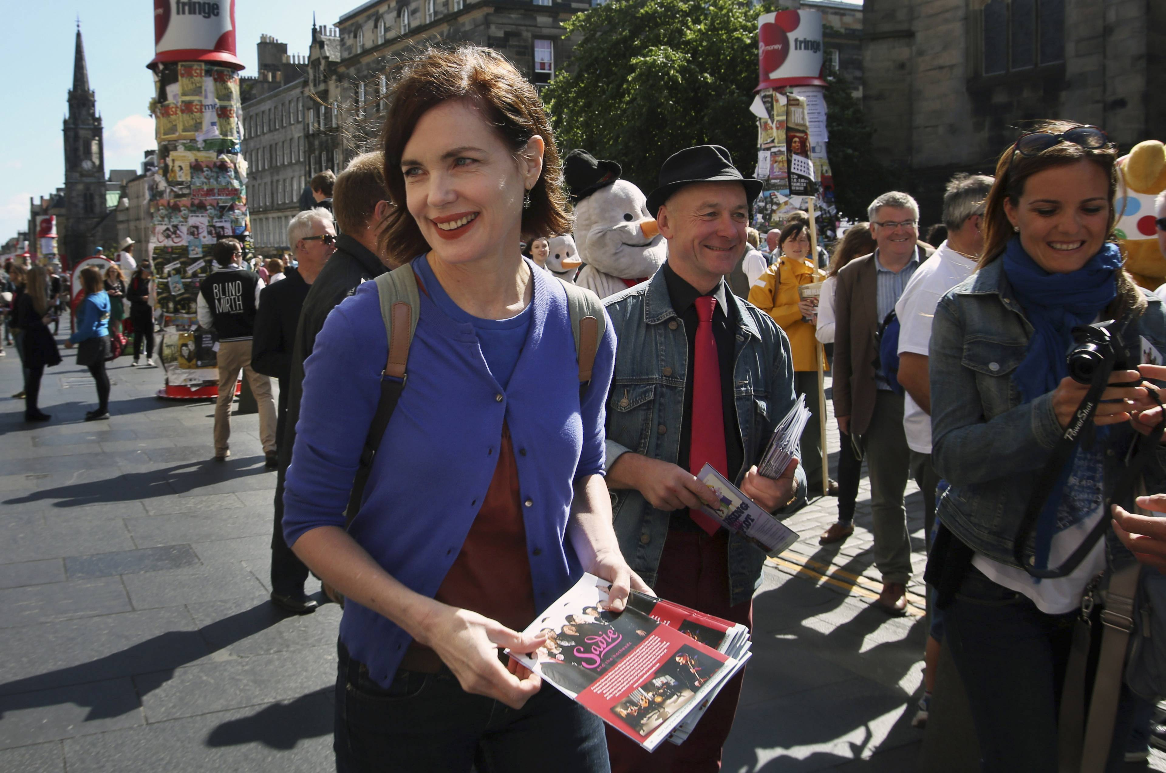 "Elizabeth McGovern, known for her role as Cora on ""Downton Abbey,"" is the lead singer for Sadie and the Hotheads, which will launch its first U.S. tour Dec. 4 in Washington, D.C."