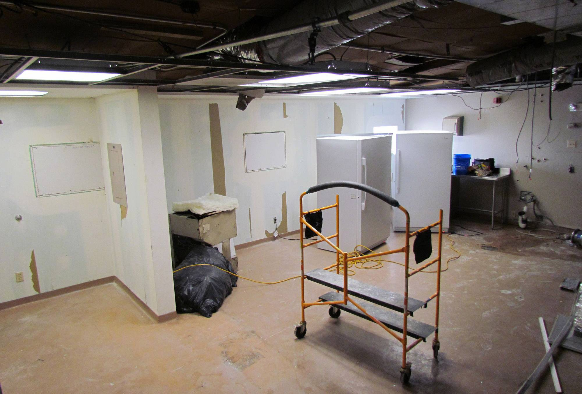 Renovations begin after mold shut down Kane County morgue