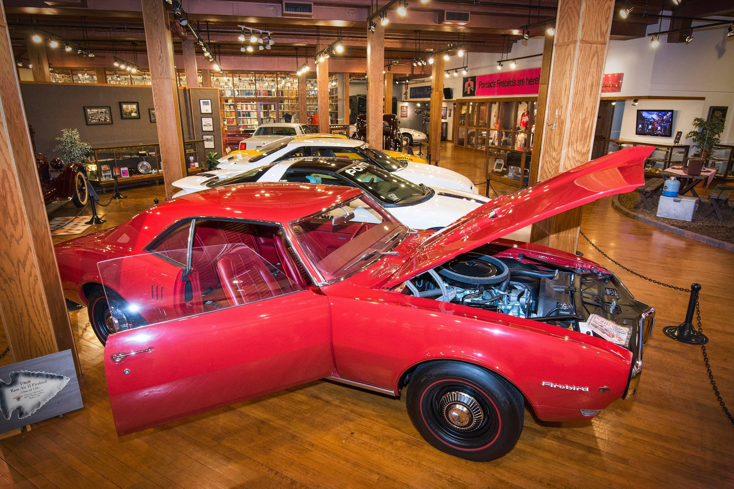 One of the museum's current rotating exhibits is a tribute to the GTO.