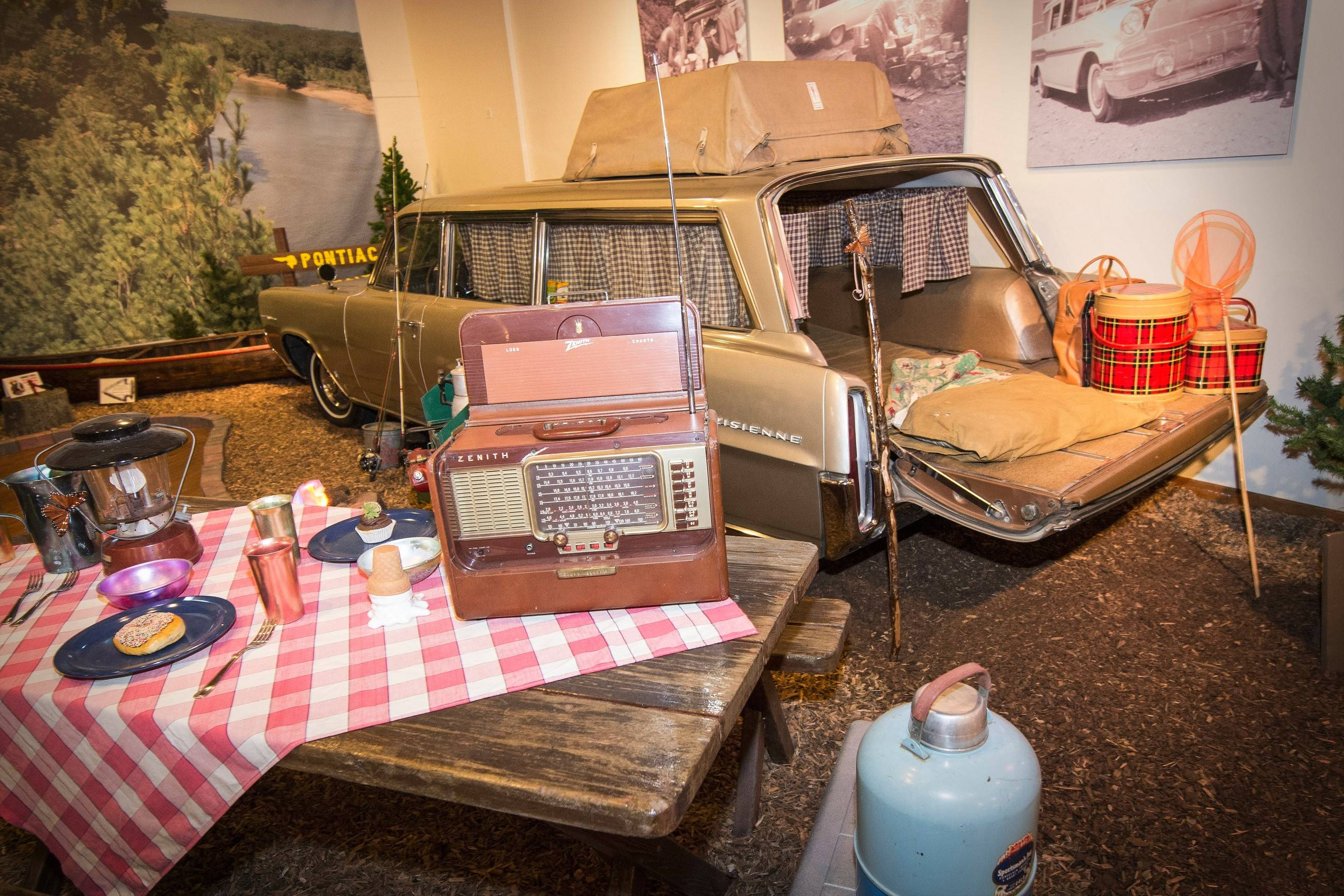 A rare 1964 Pontiac Parisienne Safari station wagon is one of the museum's treasures.