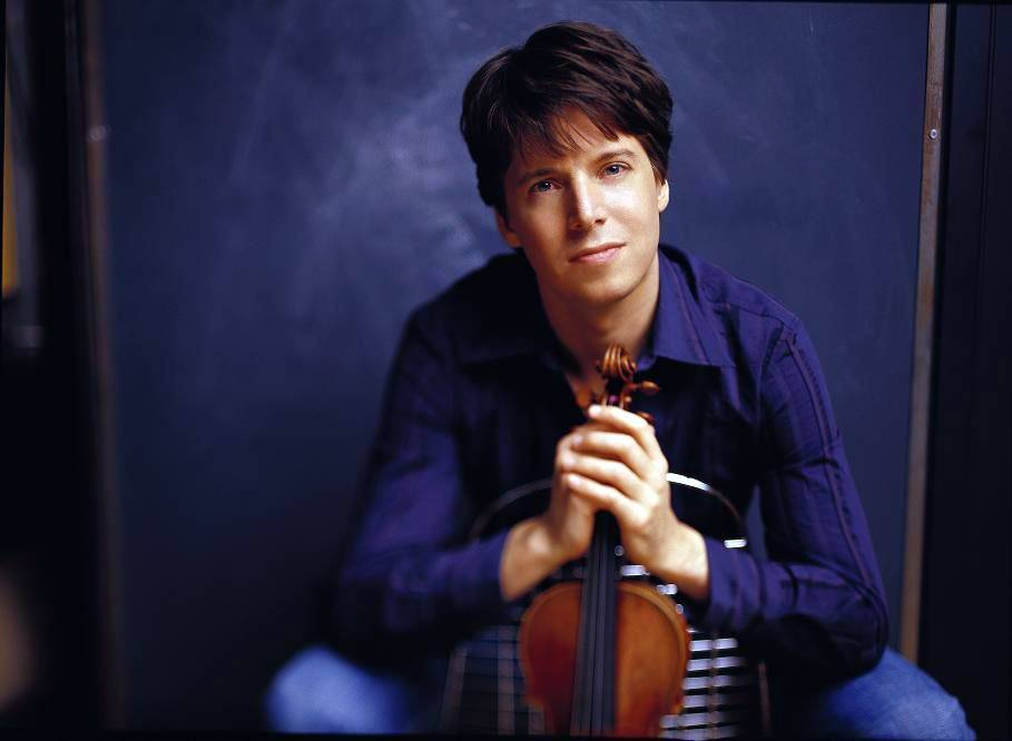 Acclaimed violinist and Indiana University graduate Joshua Bell will try playing in a train station again, though this time he hopes it's more conducive to making music.