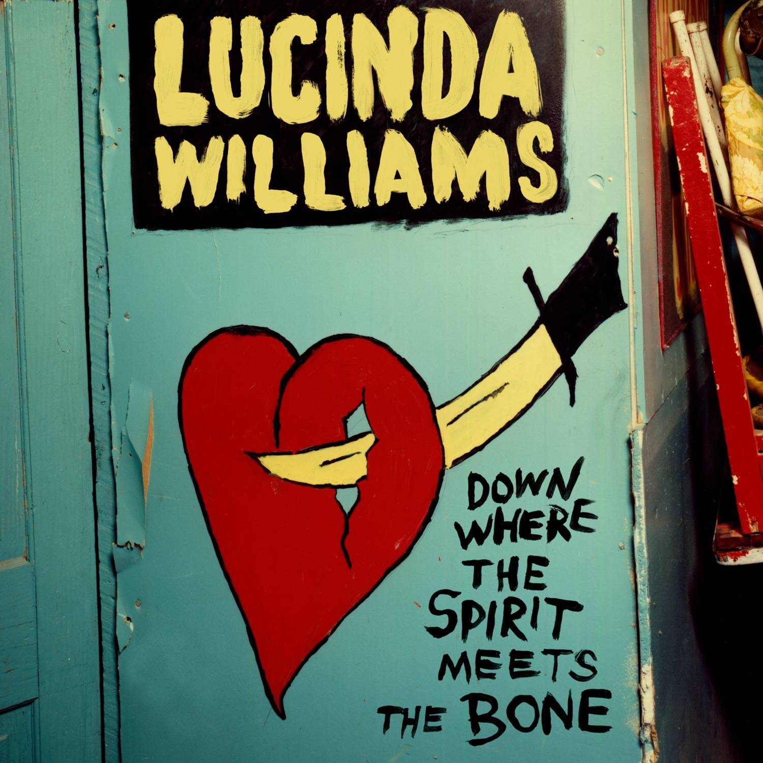 "Lucinda Williams just released the two-CD set ""Down Where the Spirit Meets the Bone."""