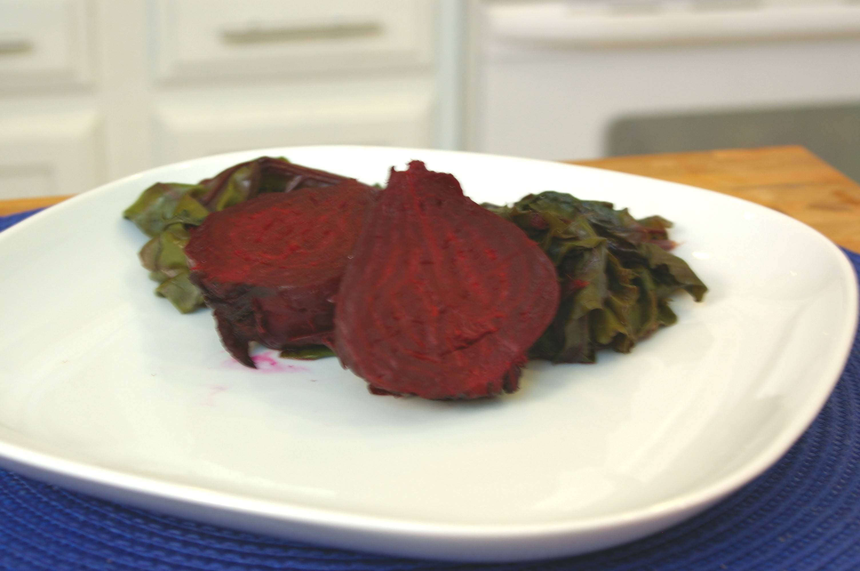 Wrapped in foil then baked in the oven, beets become a delicious, nutritious side dish.