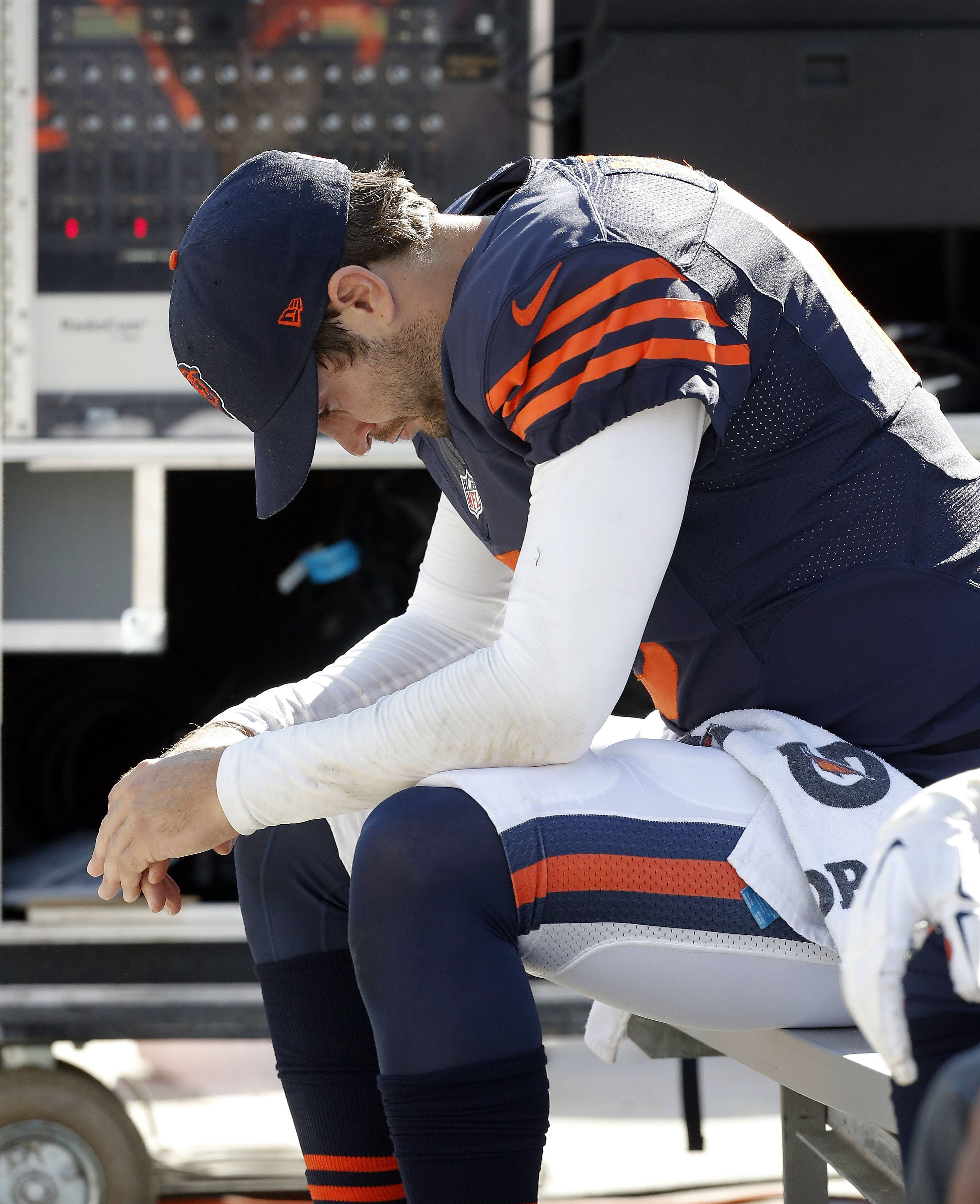 While Bears quarterback Jay Cutler tries to figure out what went wrong against the Packers, the Bears find themselves tied in the NFC North with Green Bay and Minnesota.