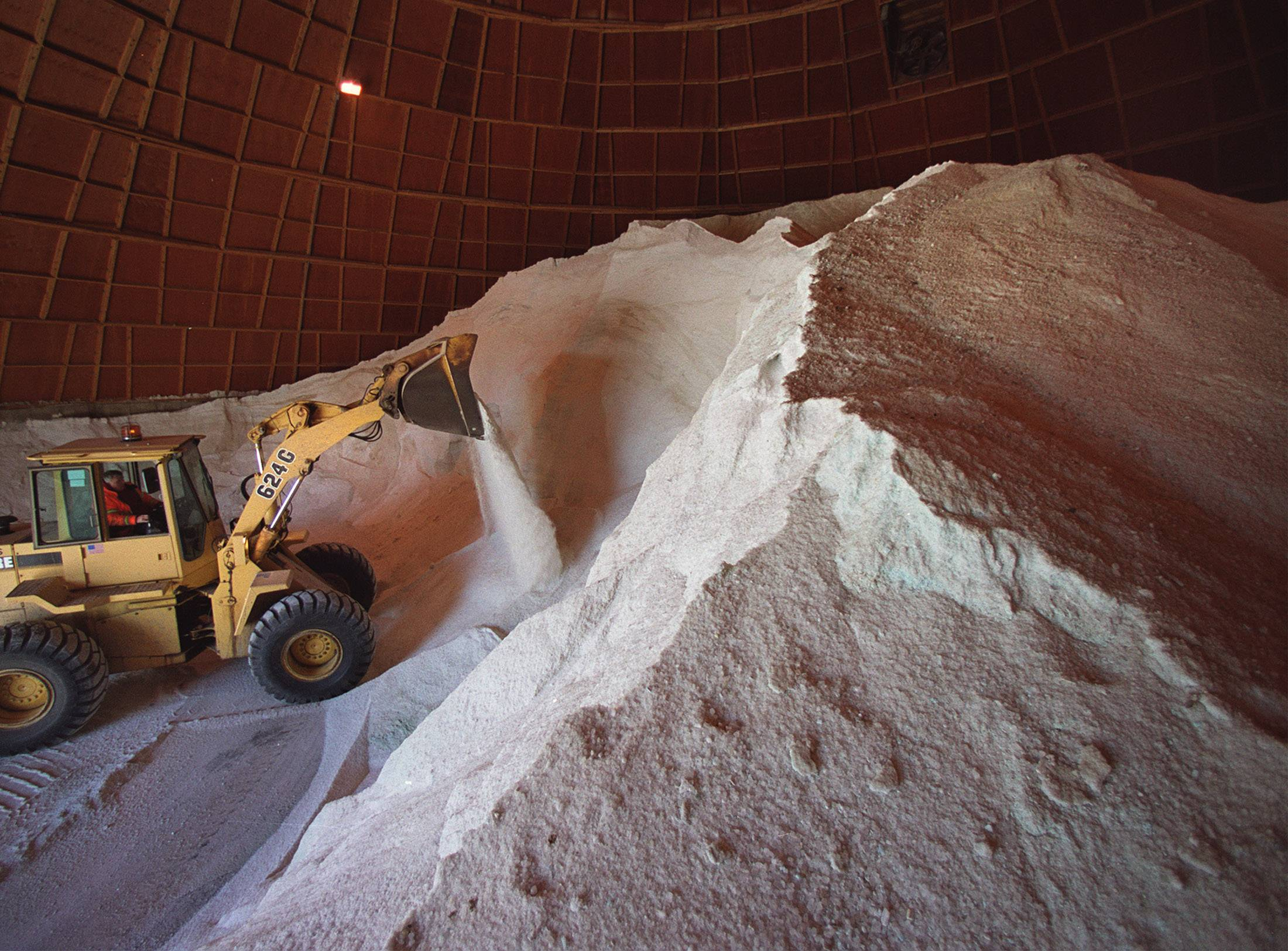 The reward for surviving last winter's frigid temperatures and record snowfall, several states are learning, is drastic price increases for road salt -- and that's if they can even get it.