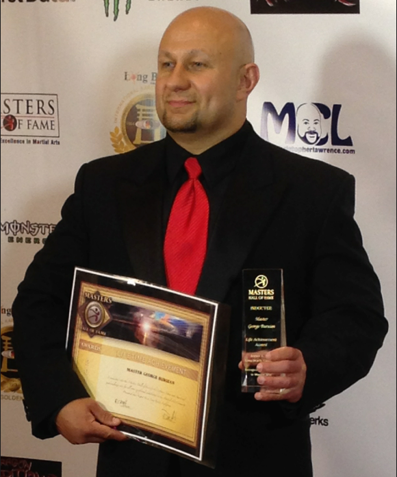 Master George just after accepting his Hall of fame award. IBRM Imagery