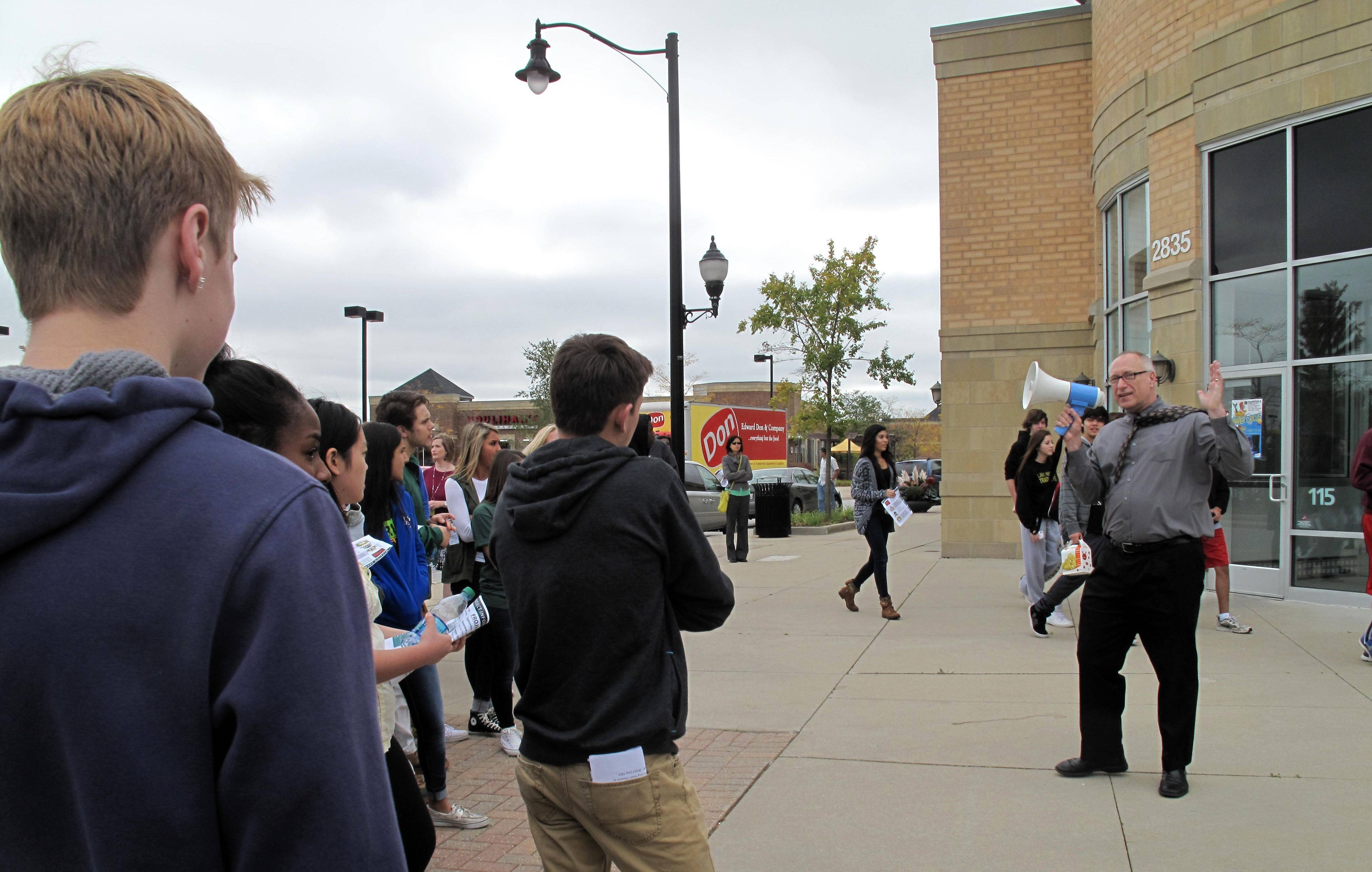 Dist. 204 students promote Naperville development in 'real-life marketing situation'