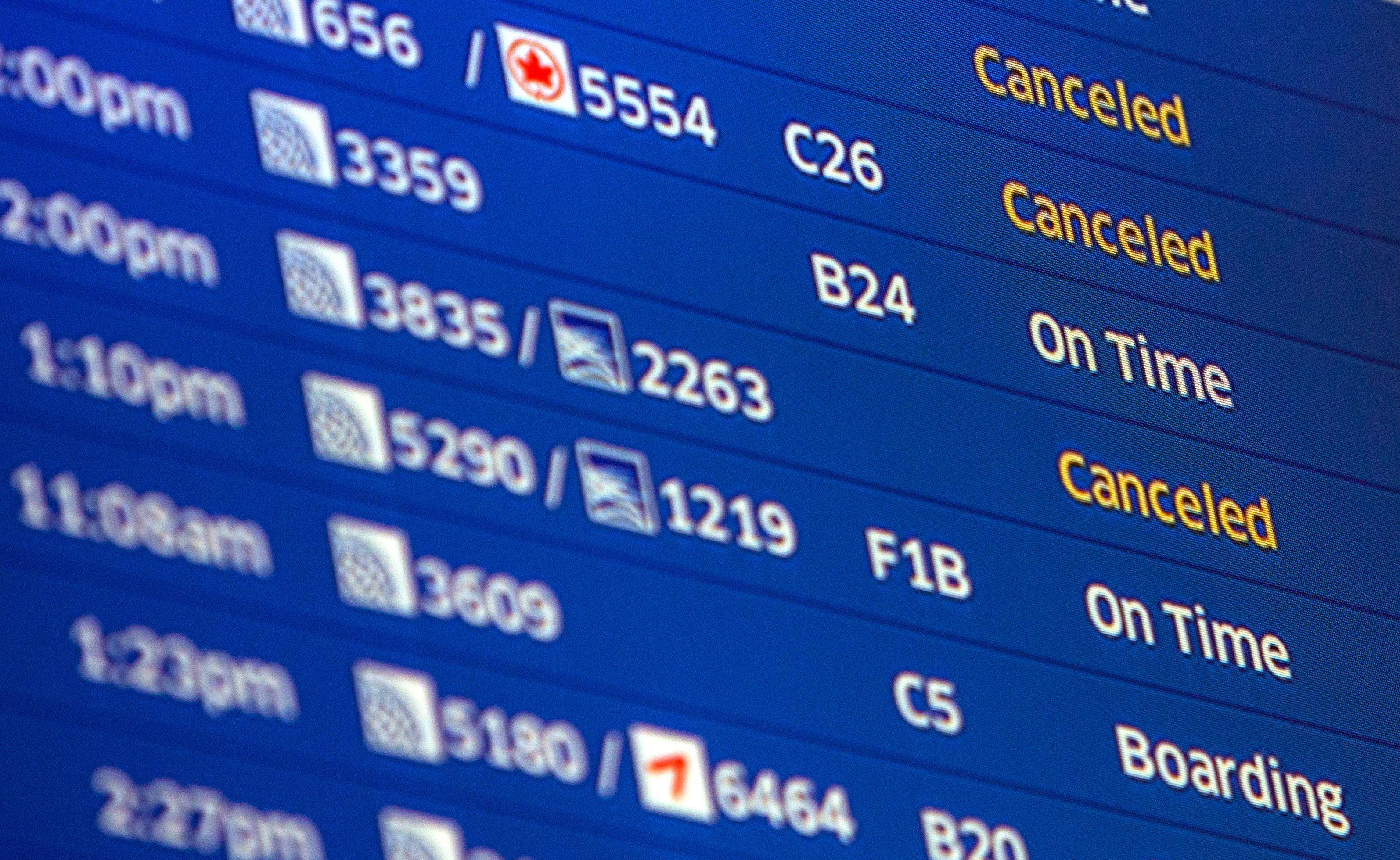 Flight operations at Chicago airports improving