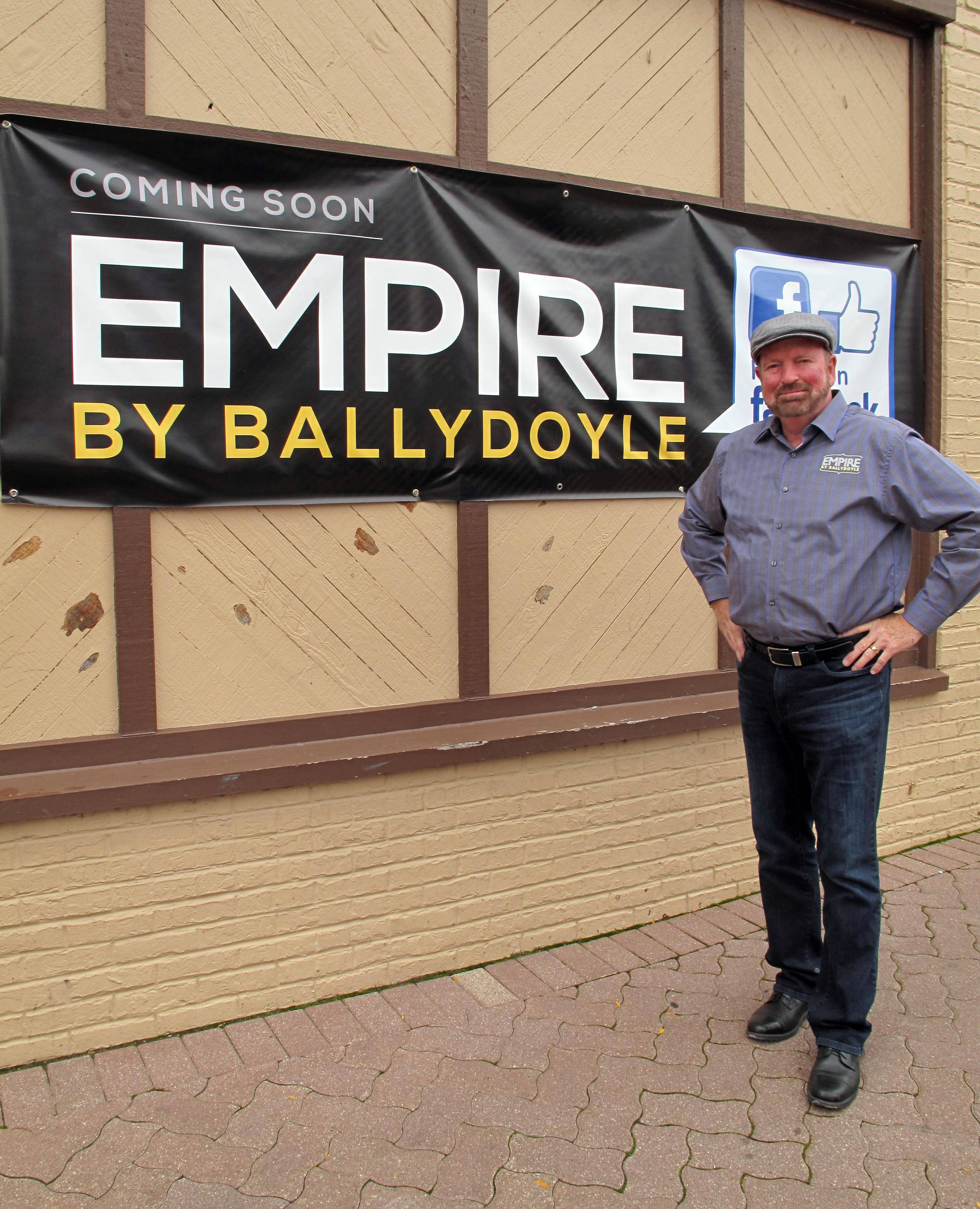 Empire bar in Naperville growing 'out from the ashes'