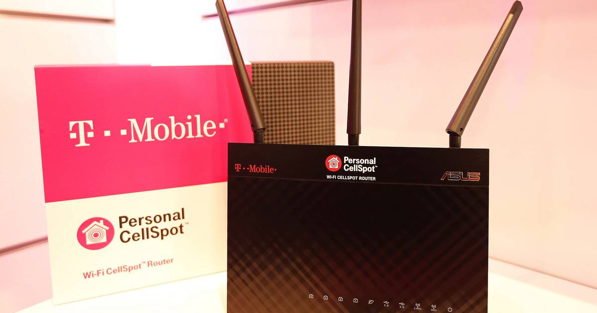 T-Mobile Personal CellSpot lets you make Wi-Fi calls from home
