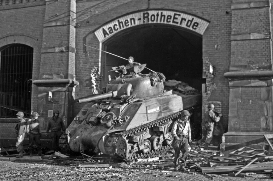 70 years later: How American GIs seized first German city in WWII