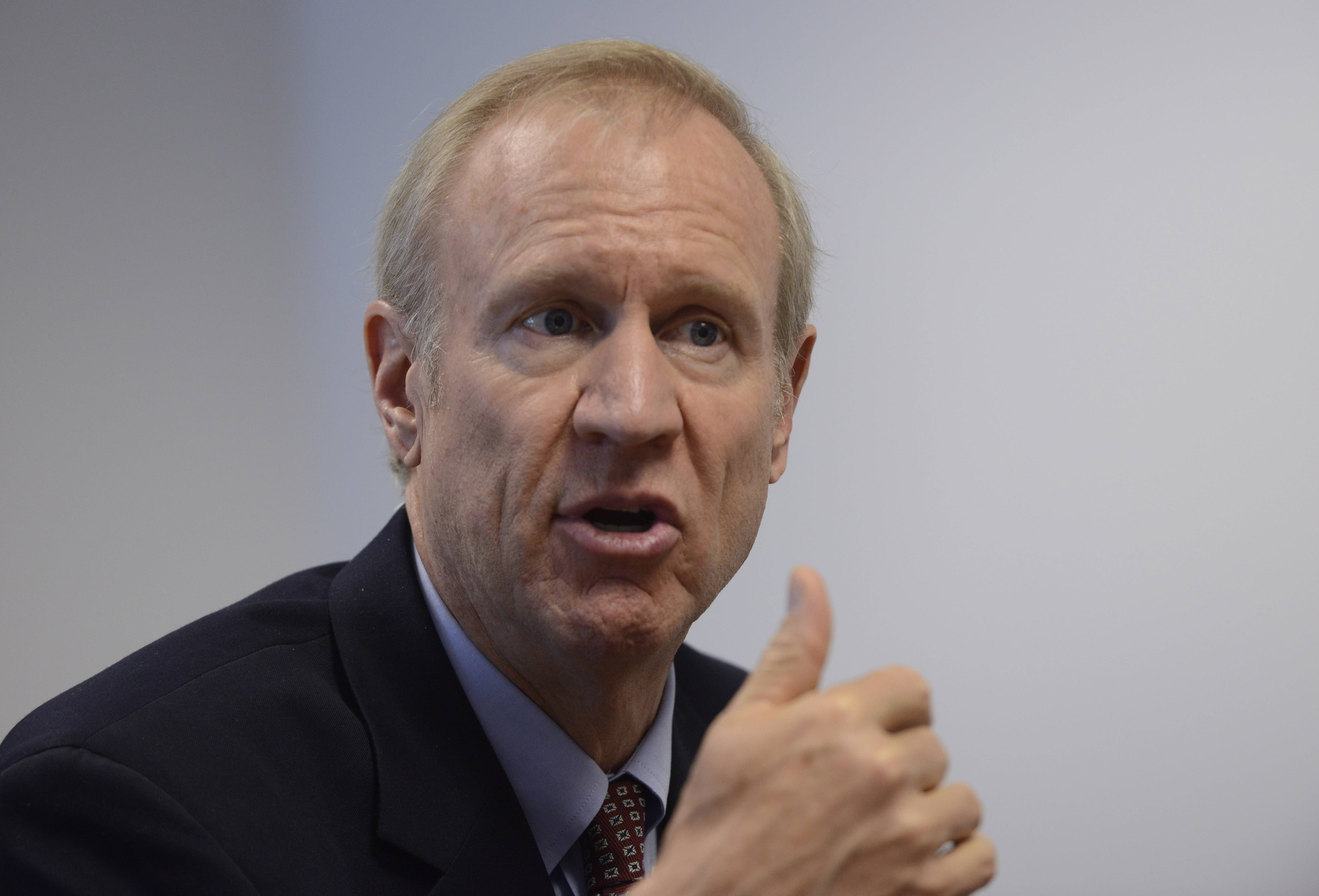 Bruce Rauner, Republican candidate for governor of Illinois