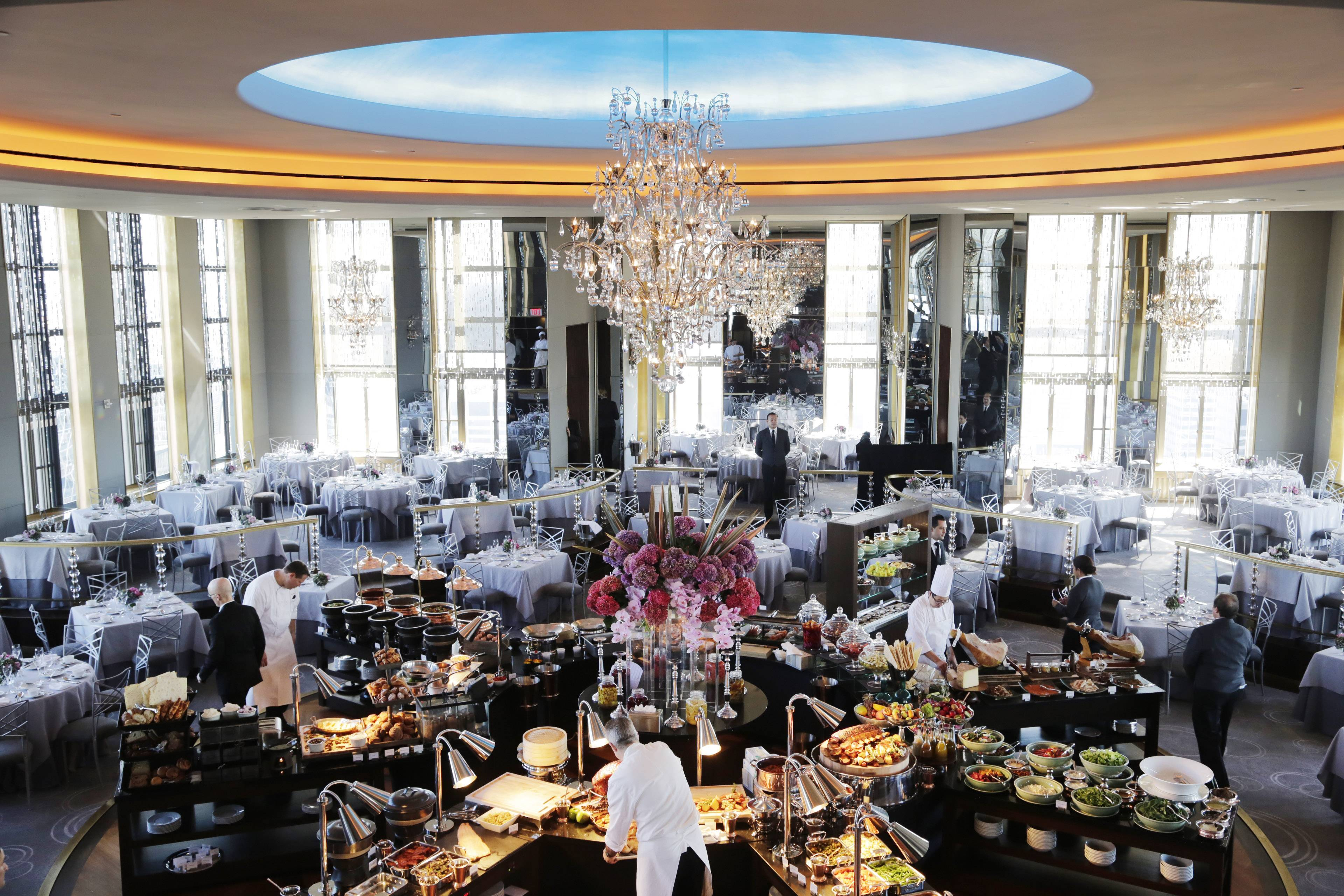 Historic Rainbow Room Reopens Atop Nyc Skyline