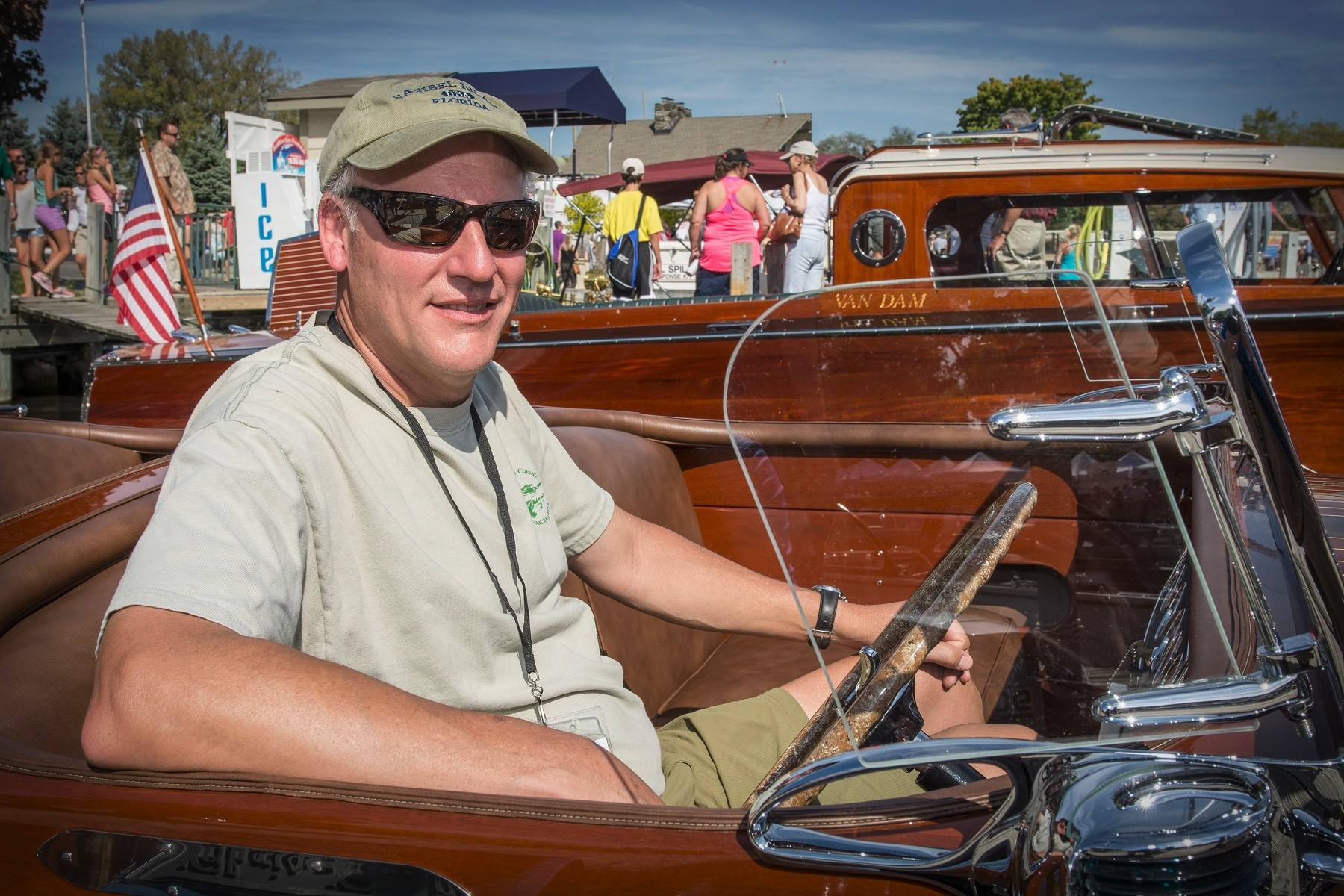 Chris Millard rebuilt a 1937 Chris-Craft Custom Runabout.