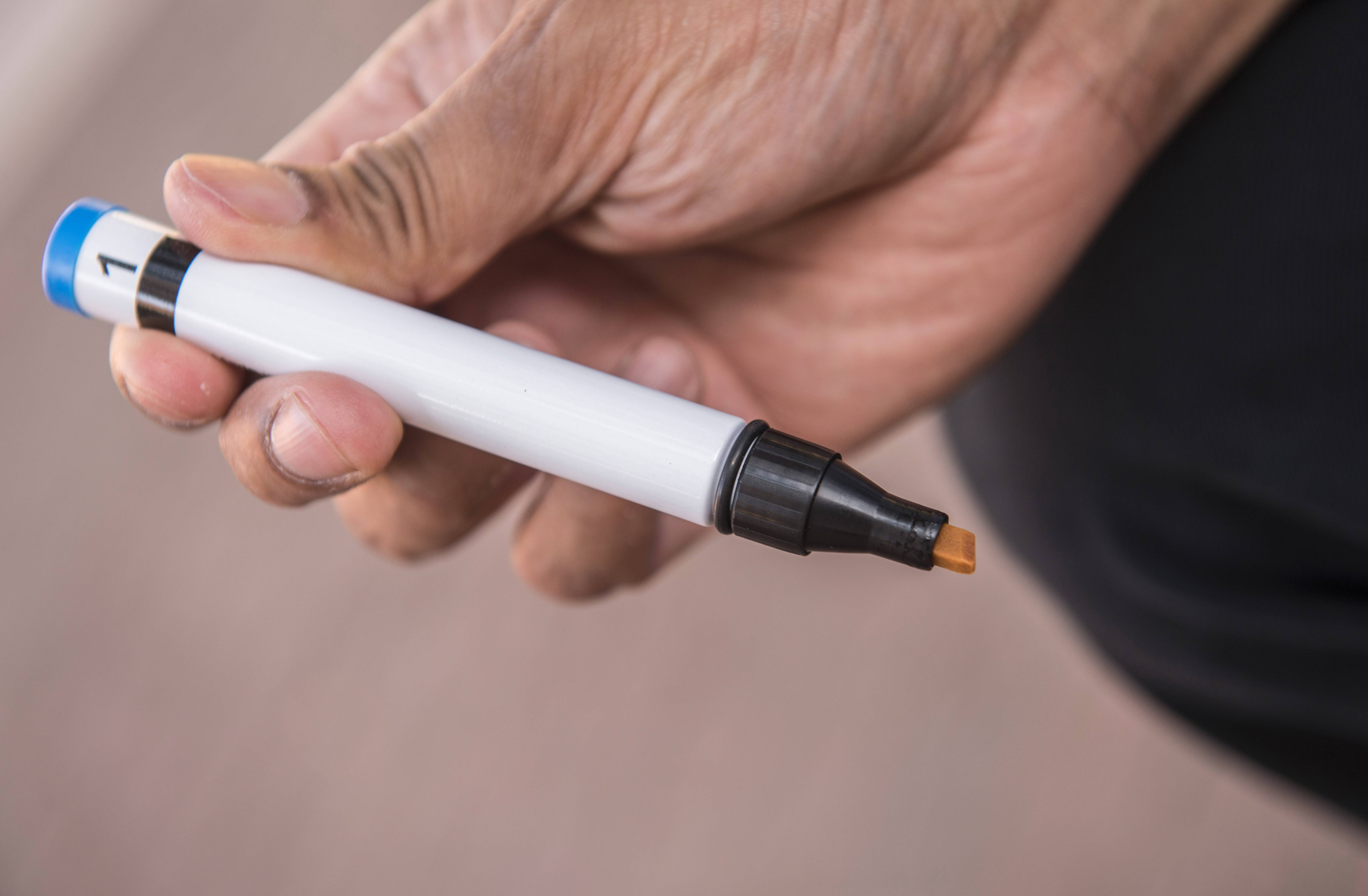It resembles a felt marker, but one of these Sniffin' Sticks could predict your death. A University of Chicago study found that older people with diminished senses of smell are far more likely to die than peers with healthy senses of smell.
