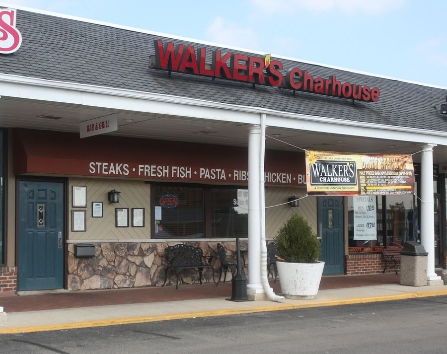 Walker's Charhouse on Gartner Road in Naperville reopened with new owners and a new chef earlier this year.