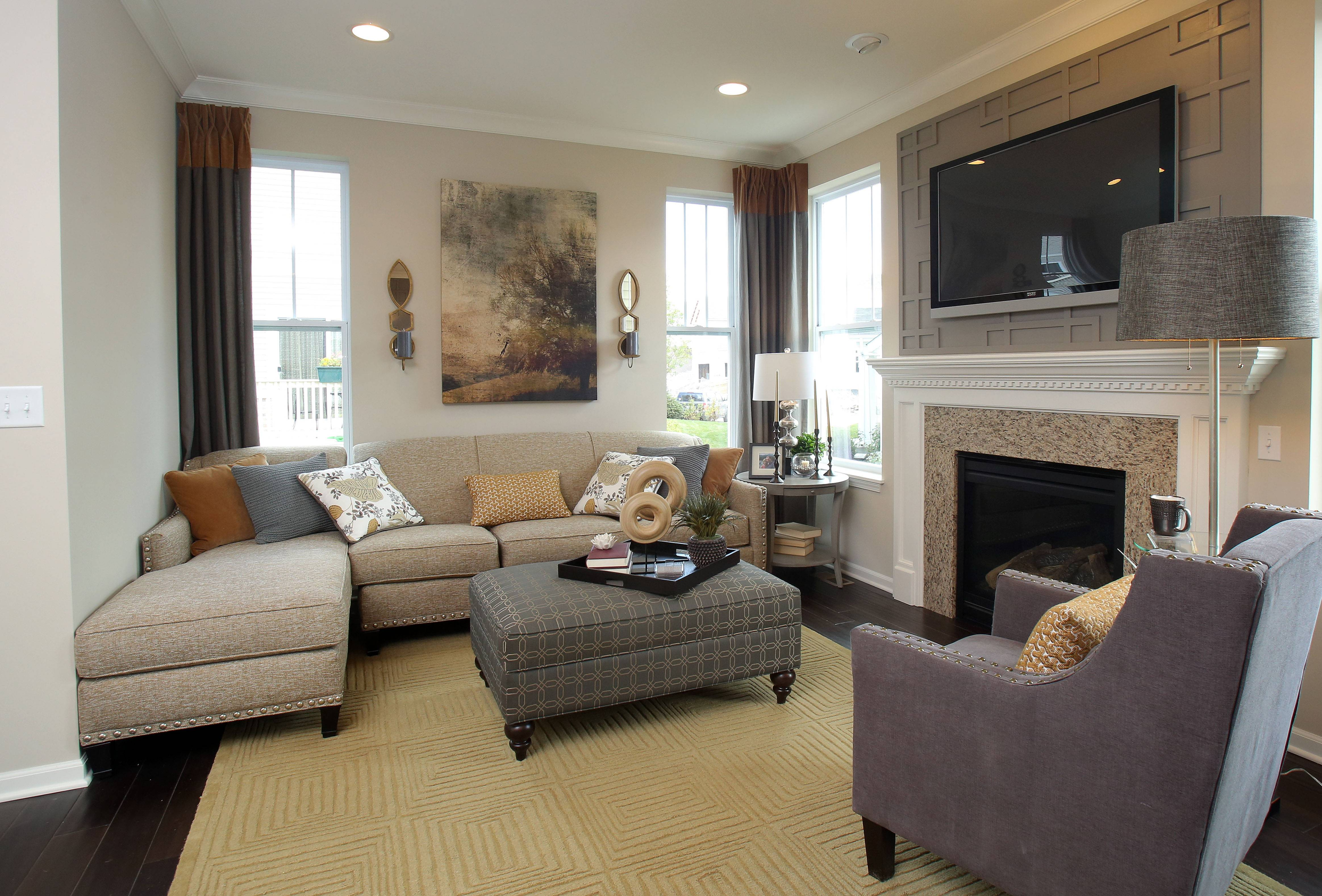Beautiful With Interior Design By Eleni Interiors Of Naperville, The Summit Model  Home At Lexington Hills