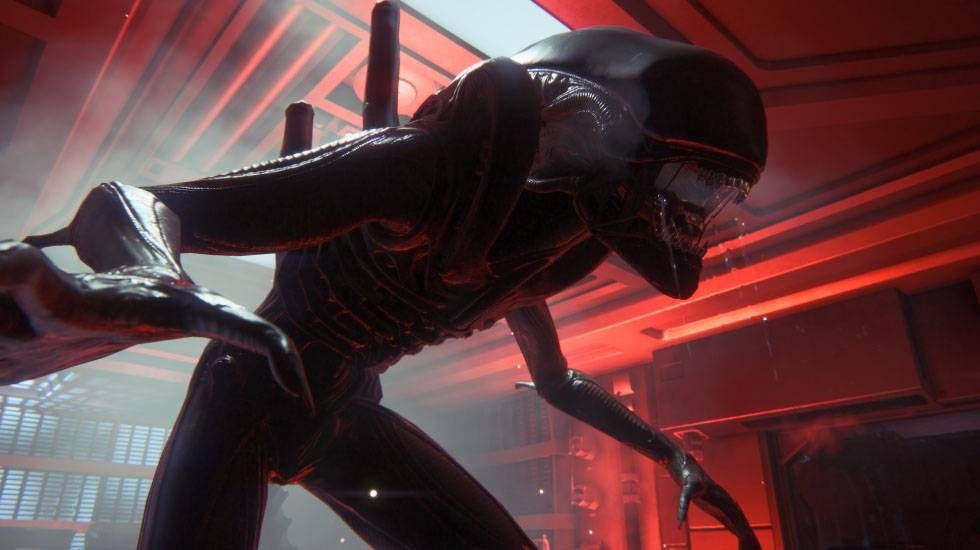 "The nastiest threat in ""Alien: Isolation"" is still that hungry alien."