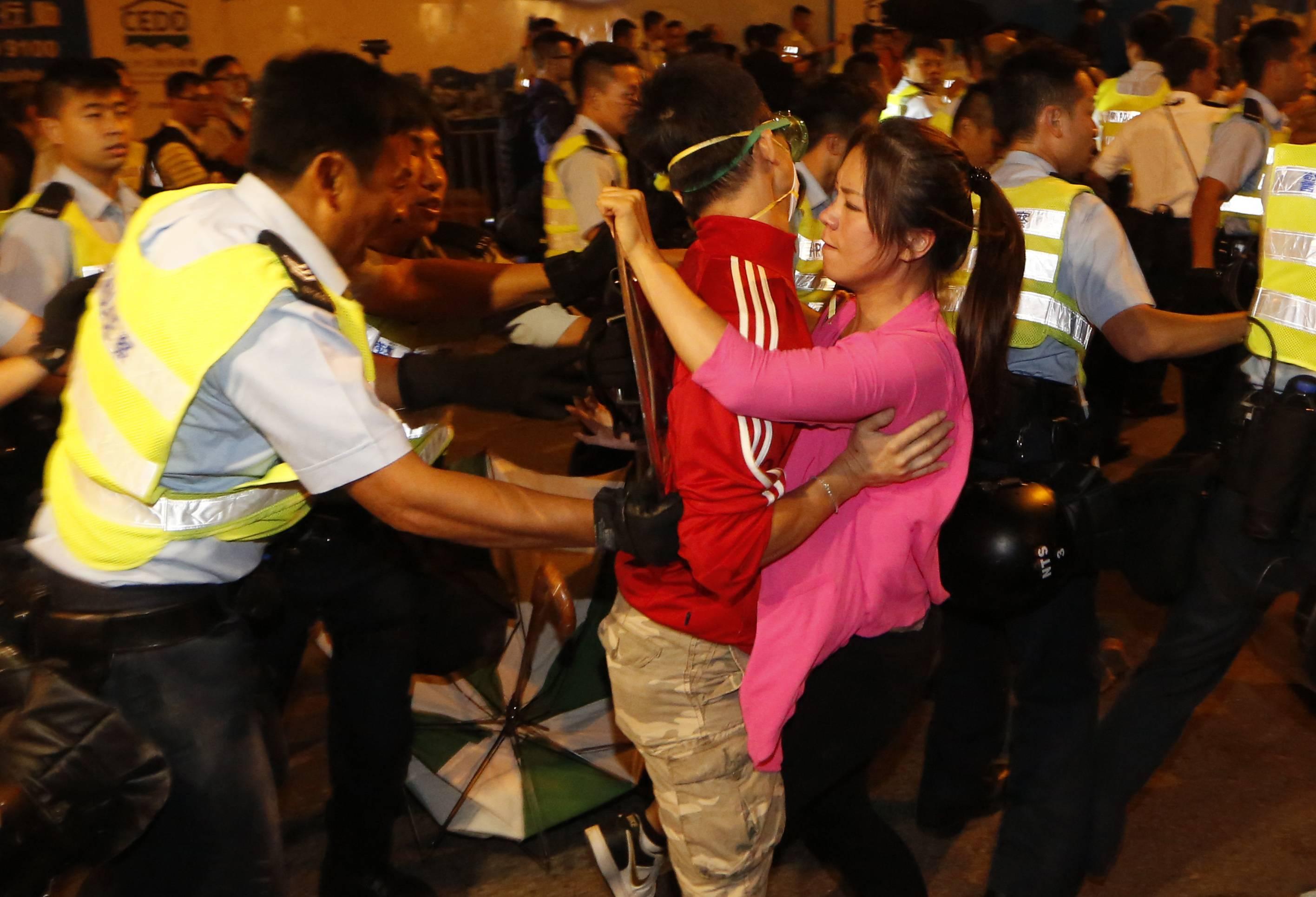 đàn áp, Hồng Kông, cảnh sát, biểu tình,