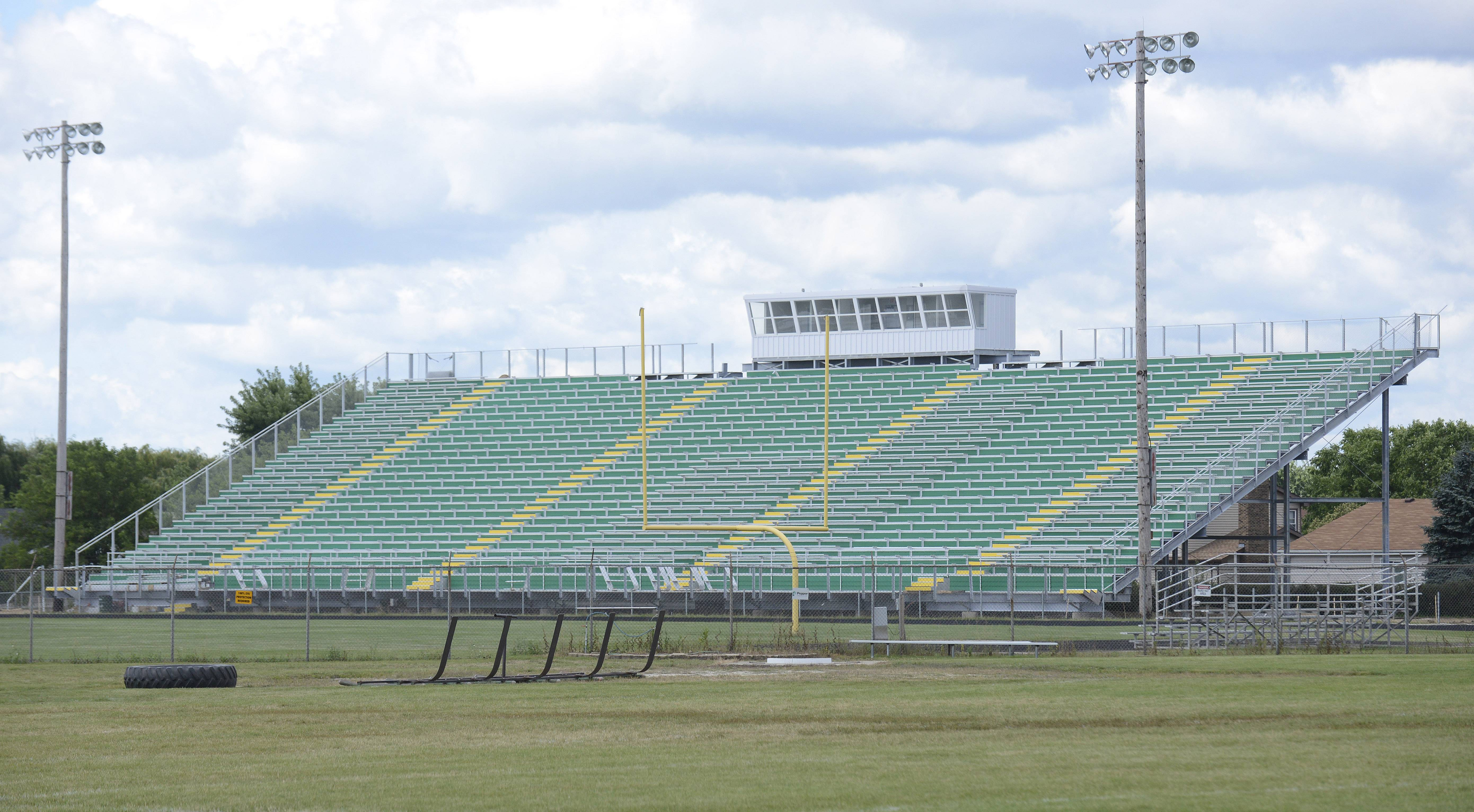 Judge: Crystal Lake South bleachers must come down