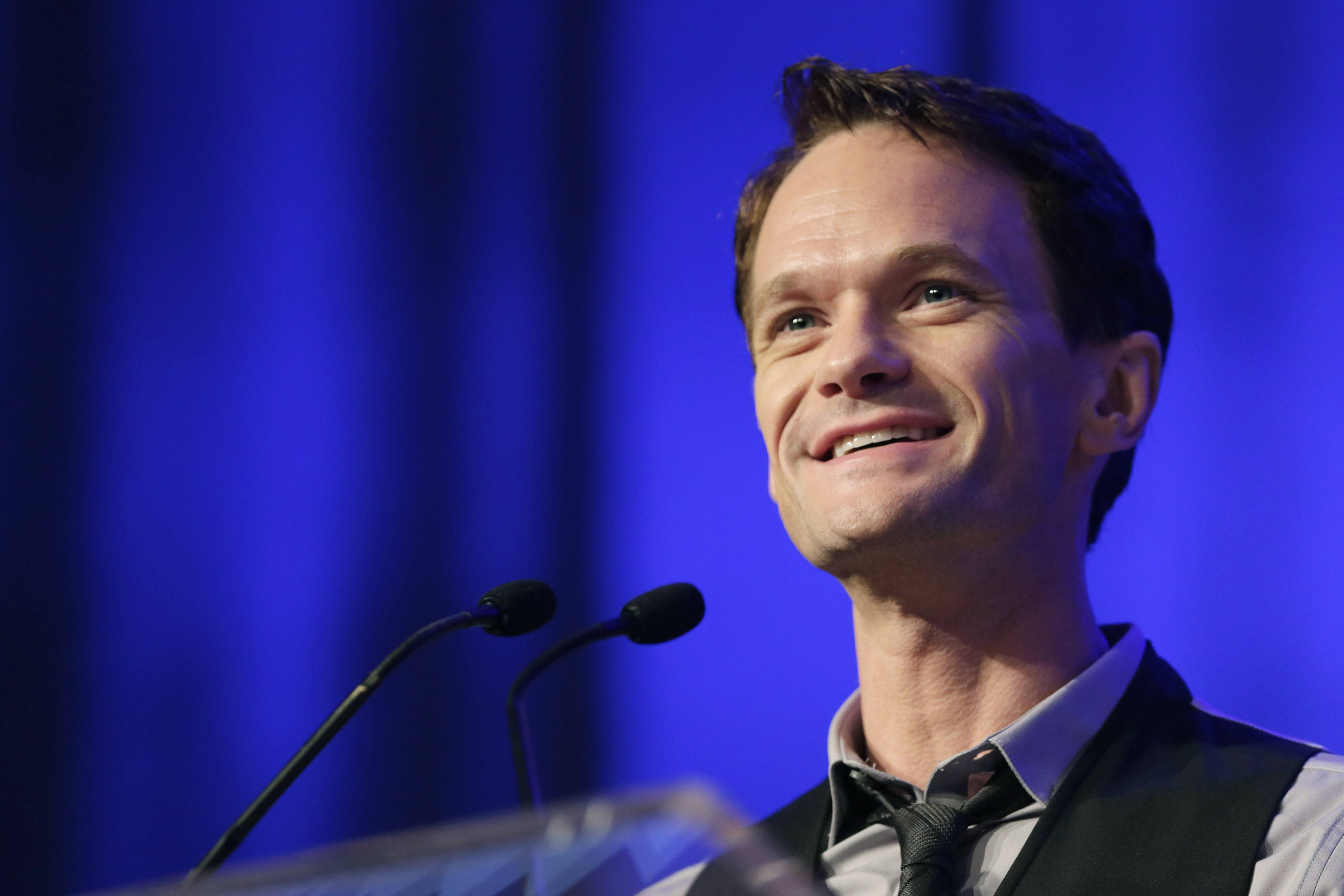"Neil Patrick Harris speaks at Book Expo America in New York about his new book ""Neil Patrick Harris: Choose Your Own Autobiography."""
