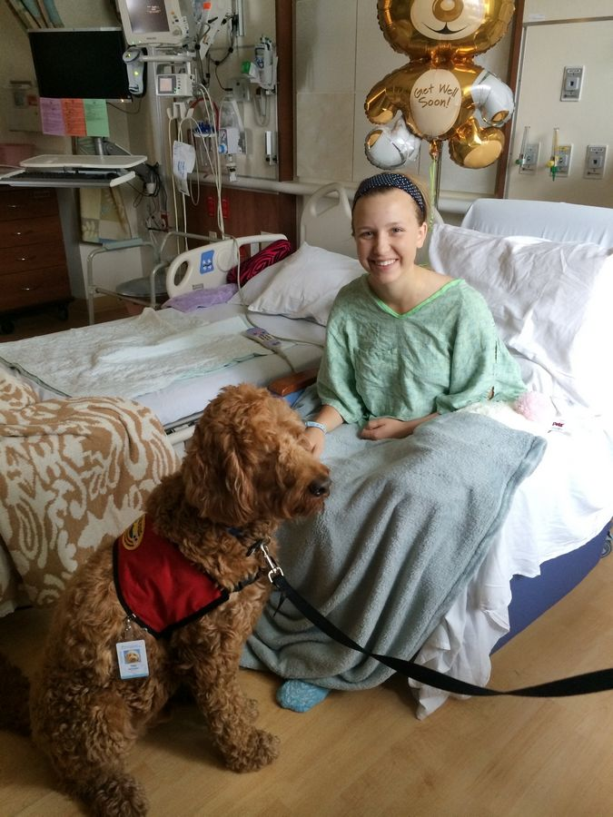 Lindsey McDonald, 15, of Geneva was injured when a horse fell on her last summer. She spent nine days at Lurie Children's Hospital in Chicago. While recovering, she started a website to raise money for families there.
