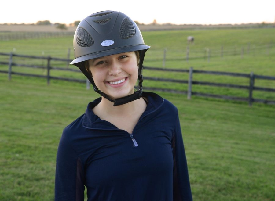 Lindsey McDonald was seriously injured when a horse fell on her this summer. While recovering, she started a website to raise money for families at Ann and Robert H. Lurie Children's Hospital in Chicago.