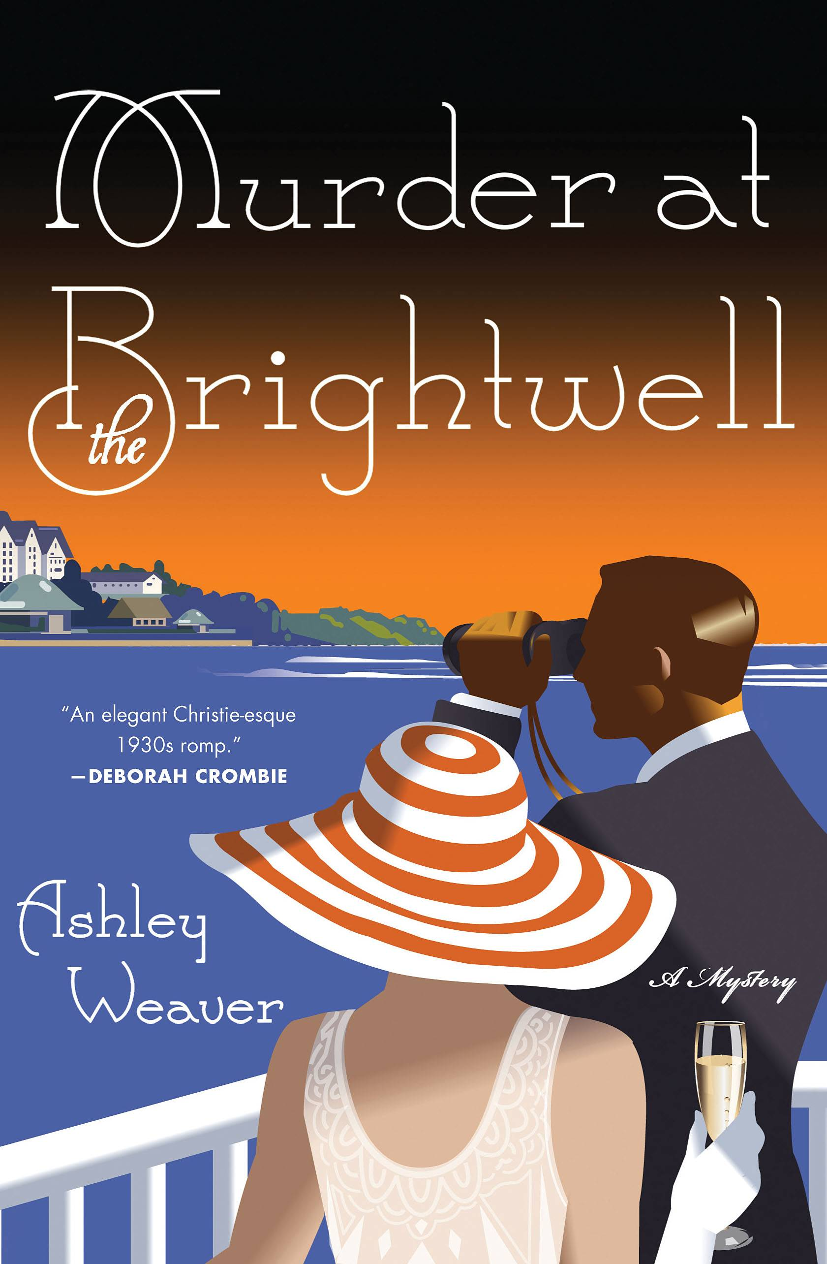 "Murder, mystery and marriage at the heart of ""Murder at the Brightwell"" by Ashley Weaver."