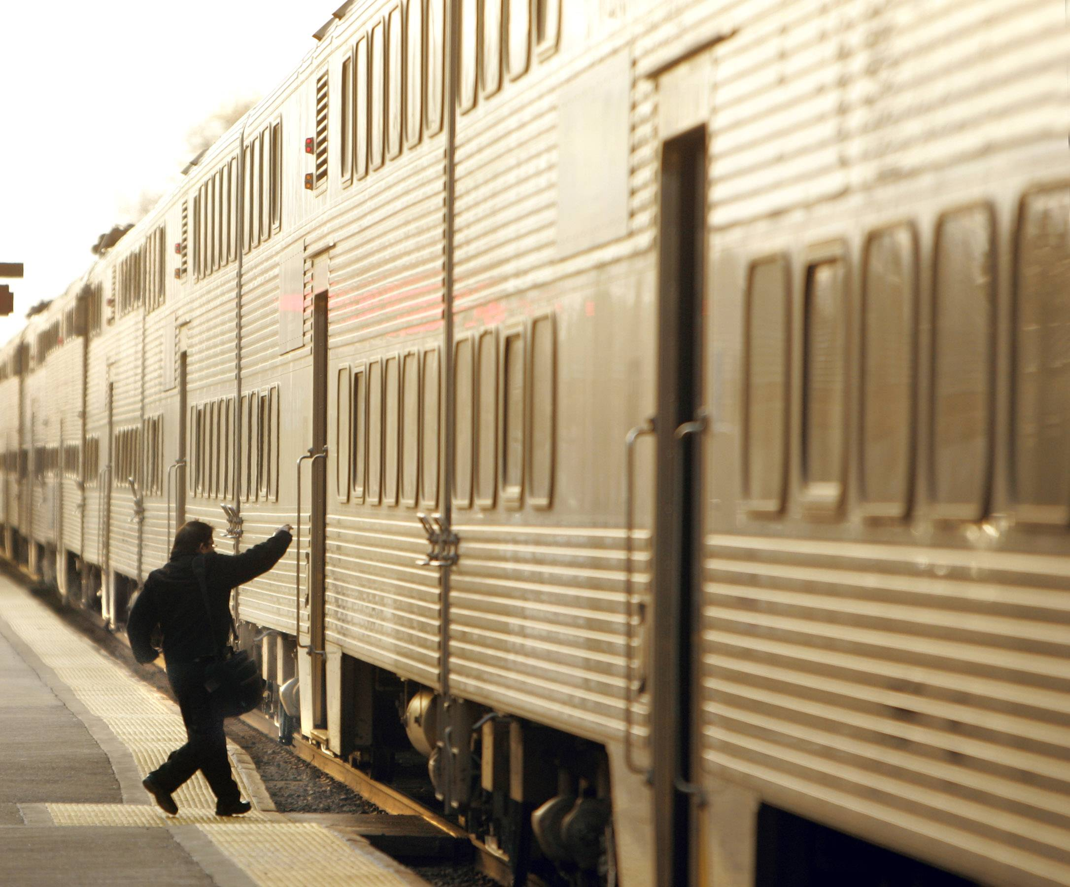 Metra leaders want commuters to take a leap of faith when it comes to fare increases.