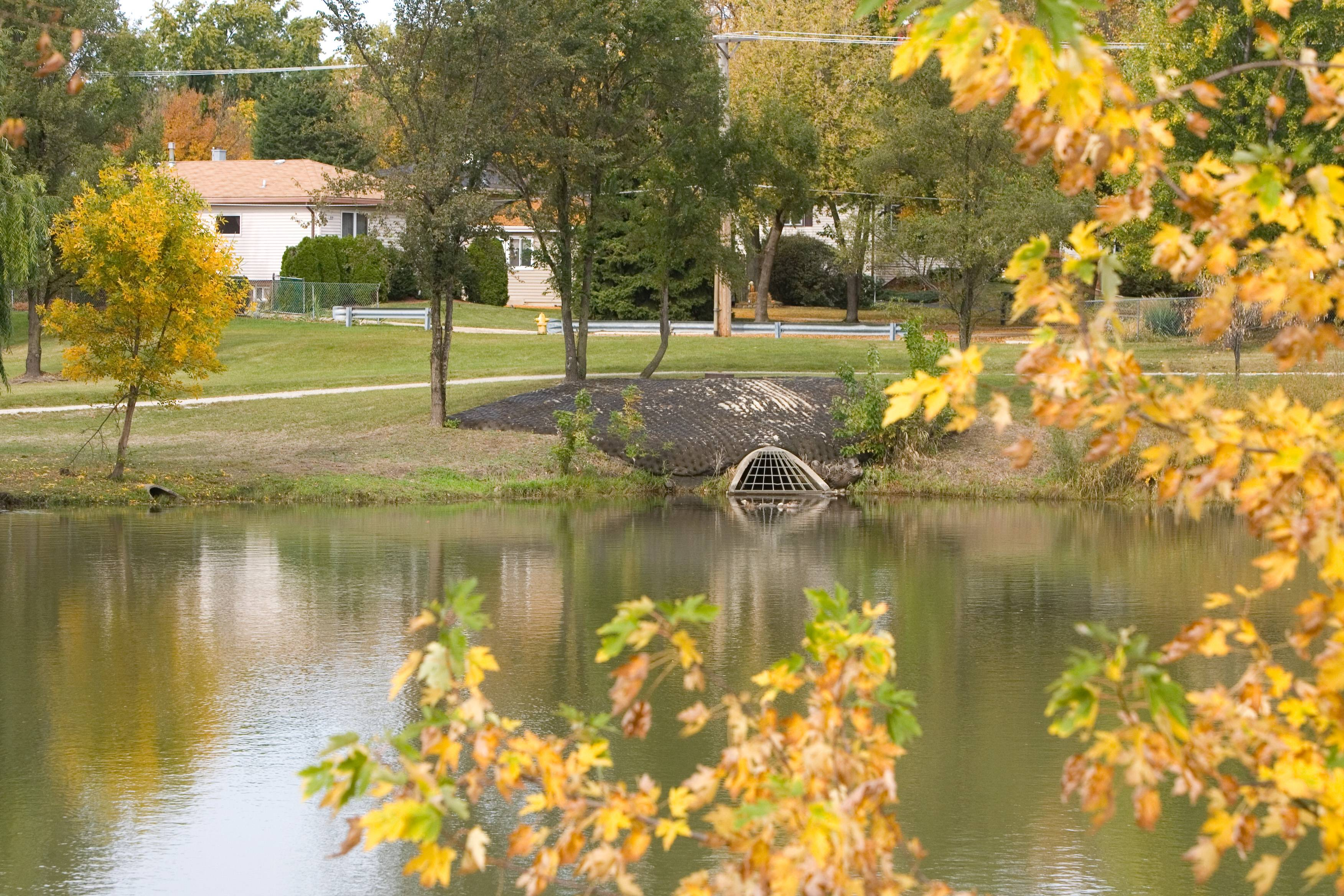 The state recently awarded a $500,000 grant to Lombard to help address flooding issues at Vista Pond. The money will help fund excavation to increase the capacity of the pond, which should reduce flooding for nearby residents.