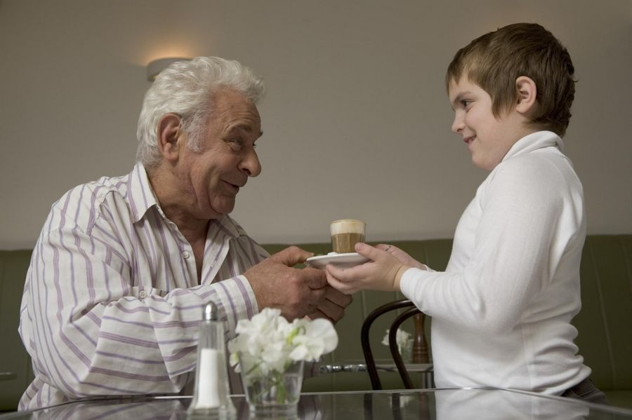 The number of children helping to care for older relatives is expected to  grow as the