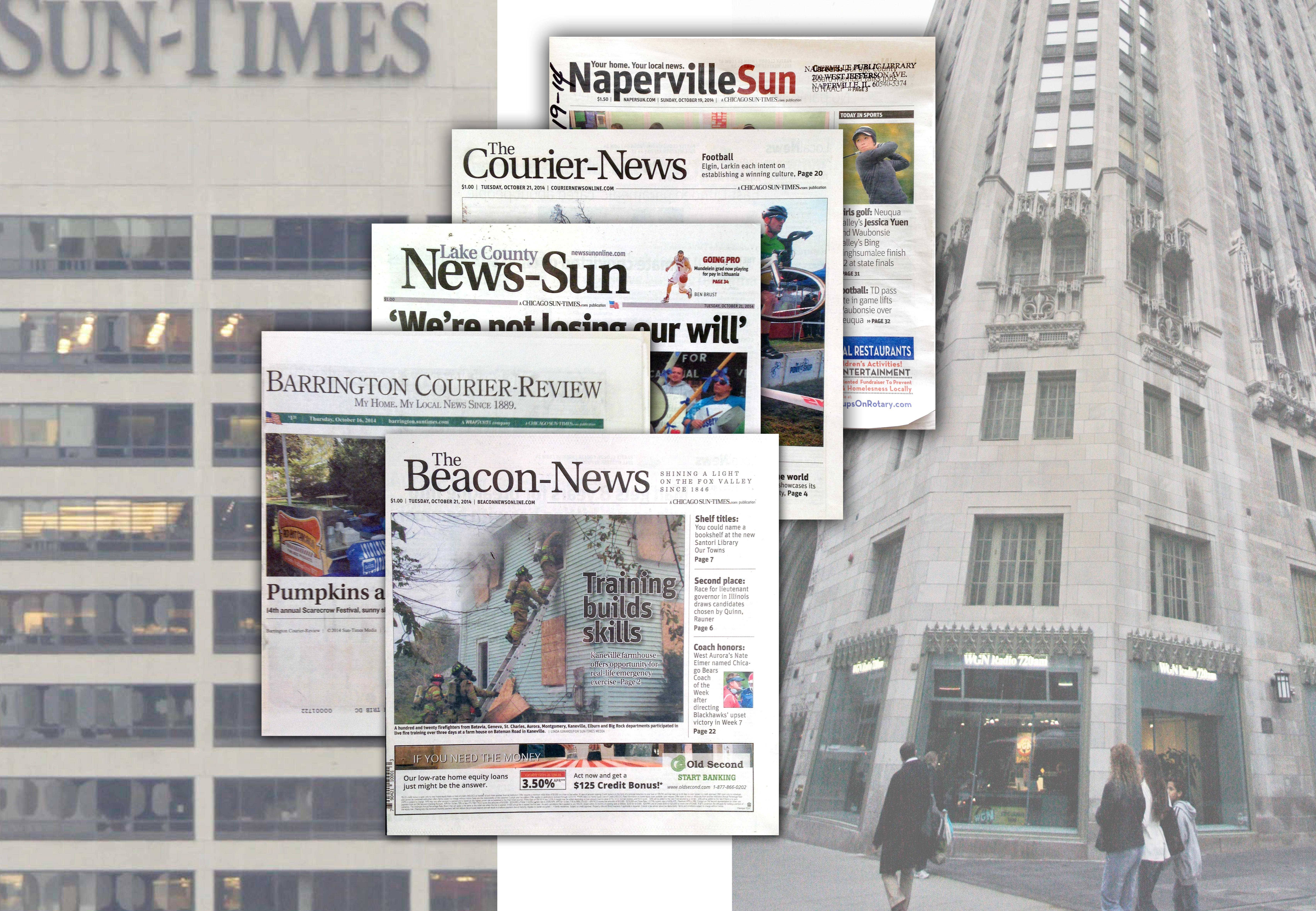 Suburban newspapers poised for change if sold by Sun-Times