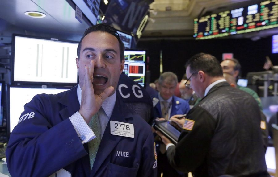 Stocks fell broadly Wednesday, snapping a four-day winning streak for the Standard & Poor's 500 index, as investors shaken by recent swings in the market sold some of their holdings.