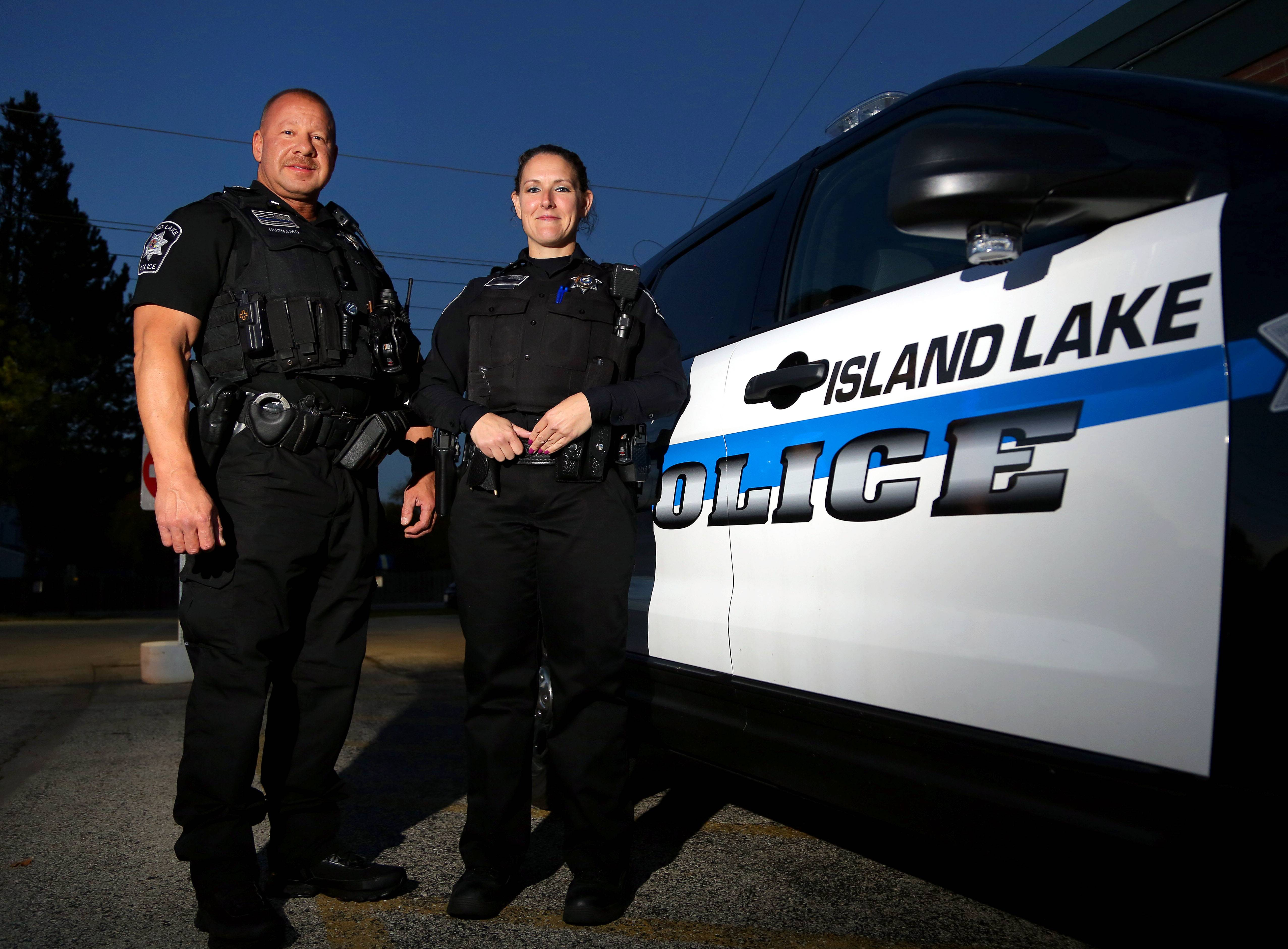 How Island Lake cops' heroic actions saved lives