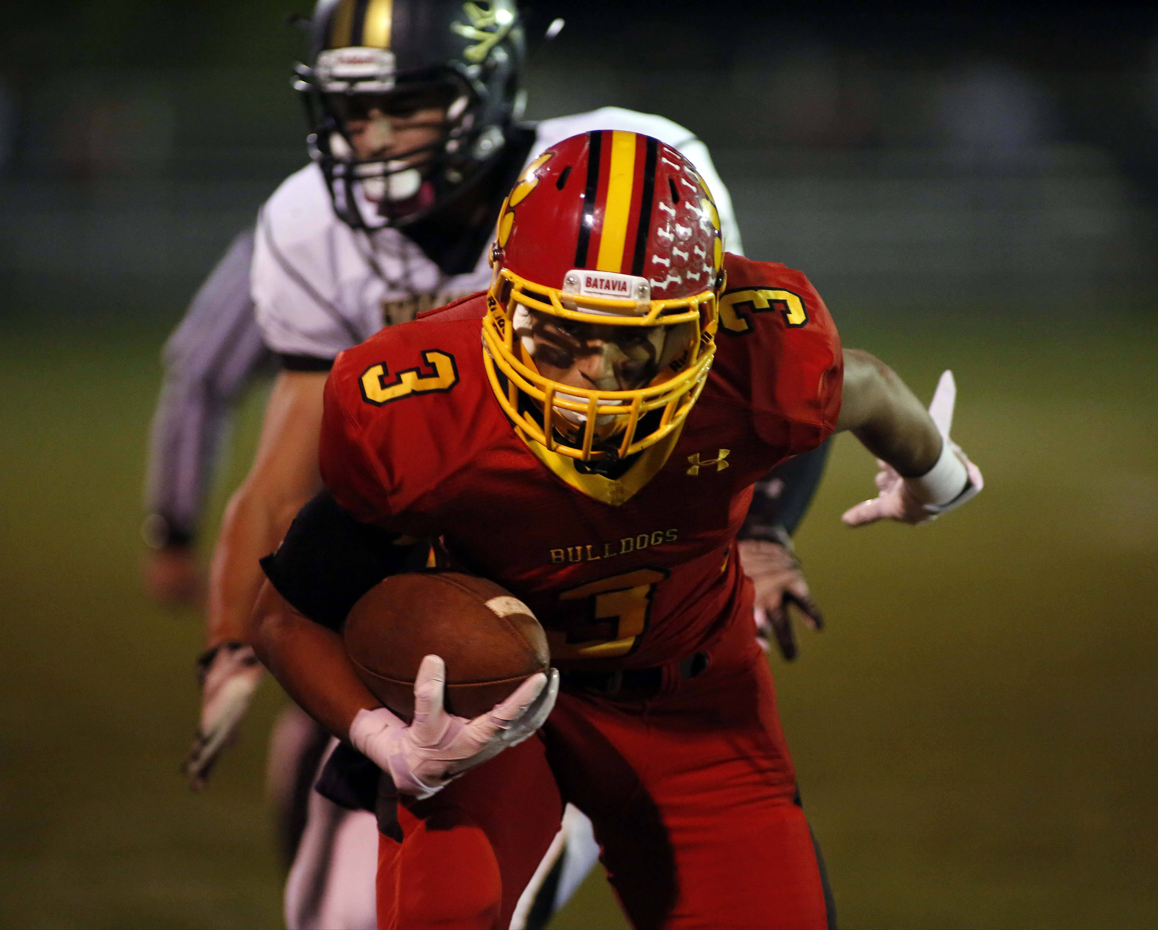 Week -9- Photos from the Streamwood at Batavia football game on Friday, Oct. 24 in Batavia.