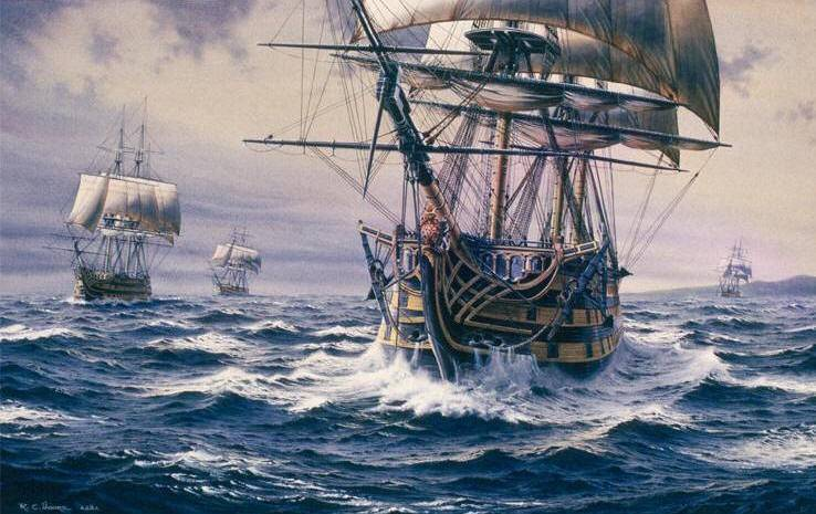 salvager to search wreck of 18th century ship in english