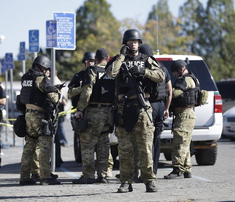 Man Arrested In Shooting Of California Officers