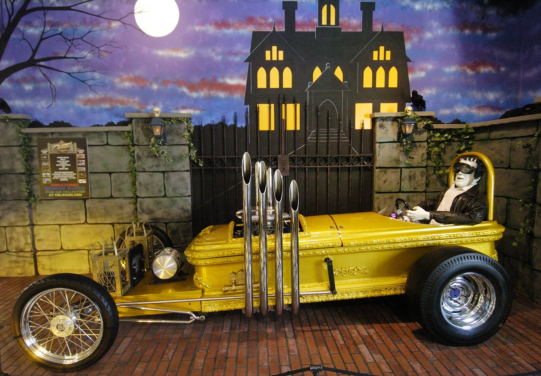 "See Drag-U-La from ""The Munsters"" TV show at the Volo Auto Museum."