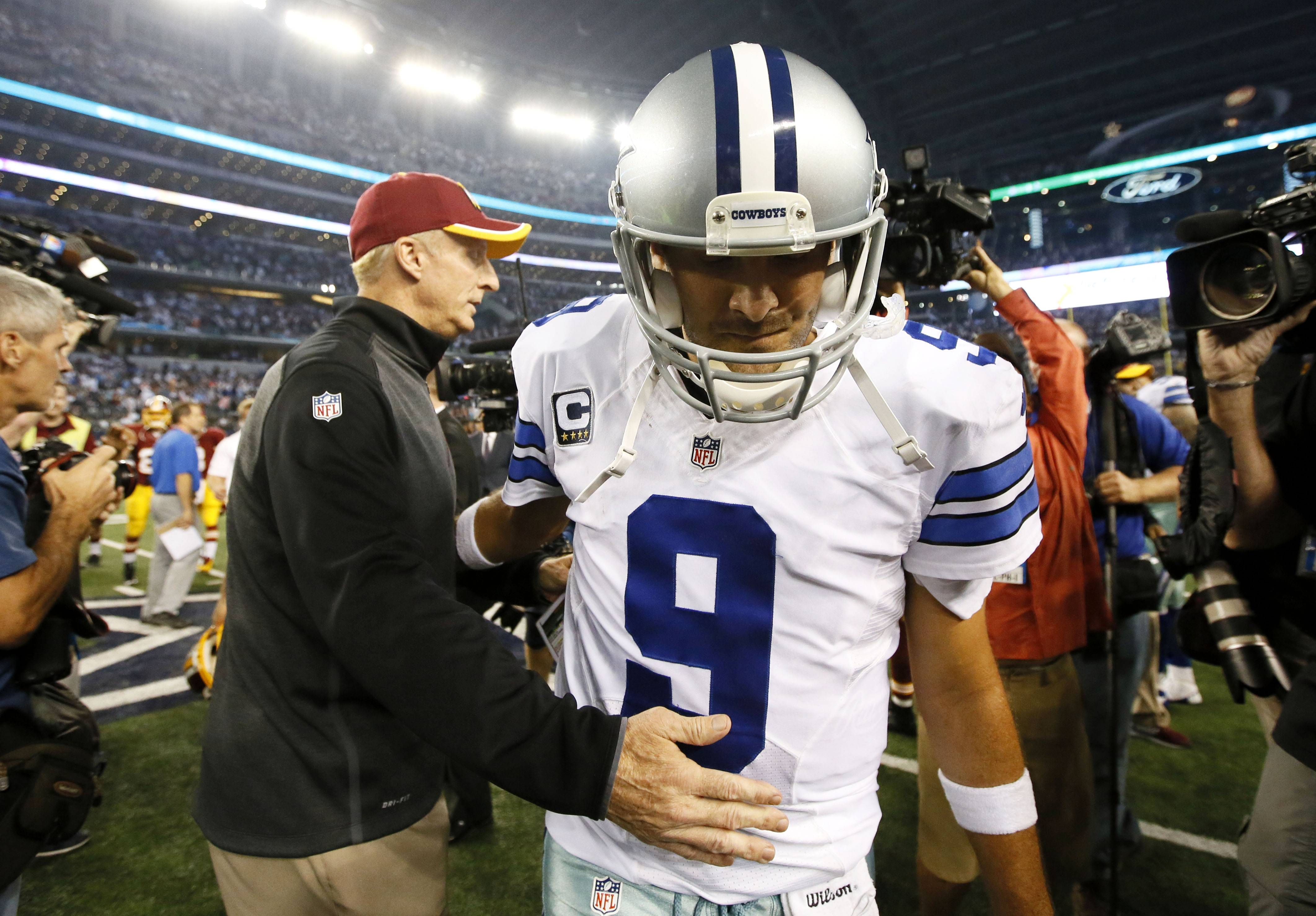 If it's a question of tolerating pain, Tony Romo says he will play Sunday against Arizona — and history supports him on that point. The issue in the 34-year-old Dallas quarterback's mind is whether he can run the offense while dealing with his third back injury in 18 months. He said Wednesday he doesn't know, which goes to owner Jerry Jones' point that it could be a game-time decision against the Cardinals.