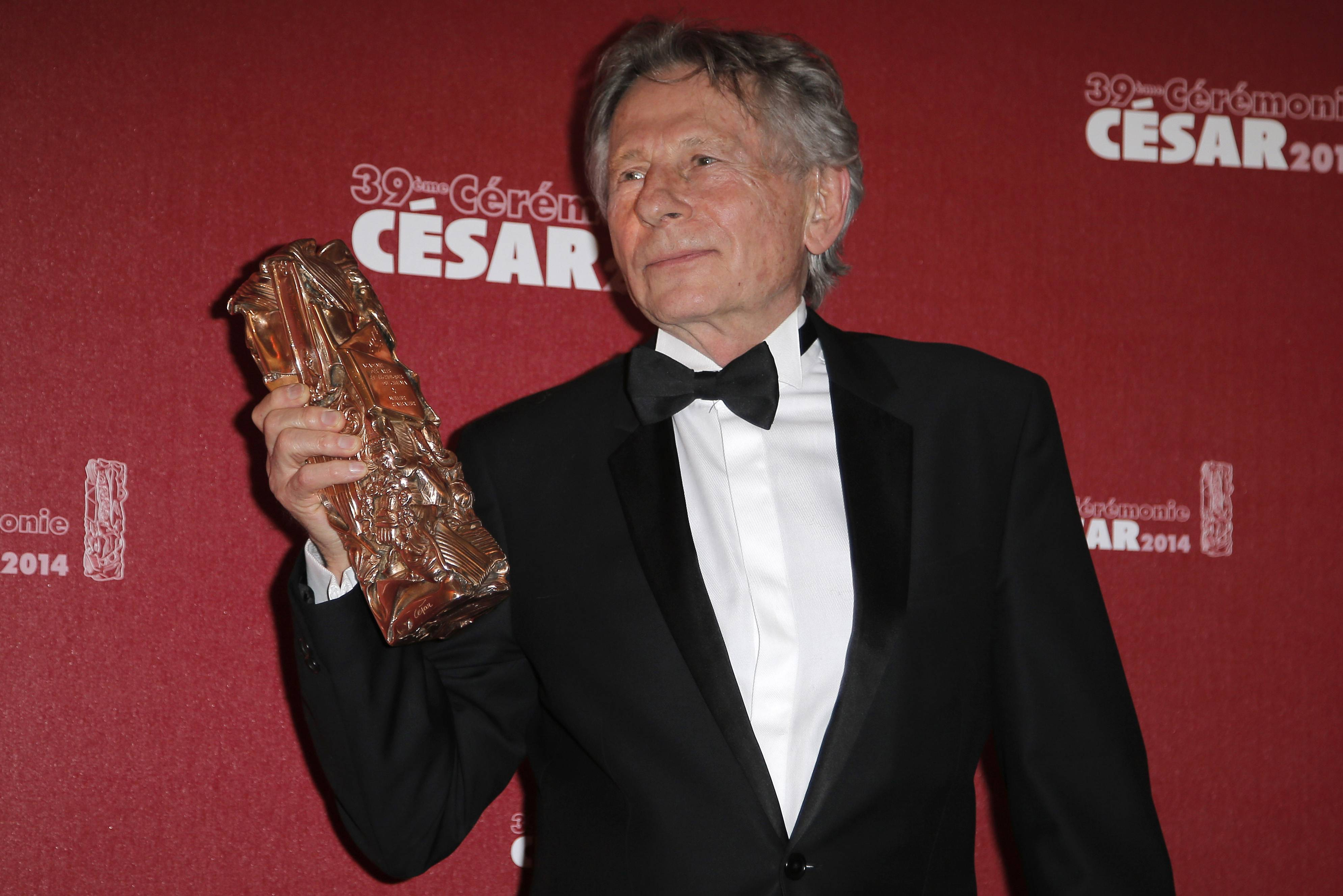 Prosecutors in Poland questioned filmmaker Roman Polanski on the request of U.S. prosecutors who are seeking his arrest on charges from 1977 of having sex with a minor, a spokeswoman said Thursday, Oct. 30, 2014.