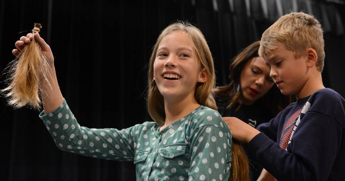 Science Arts Academy In Des Plaines Cuts Hair For A Cause