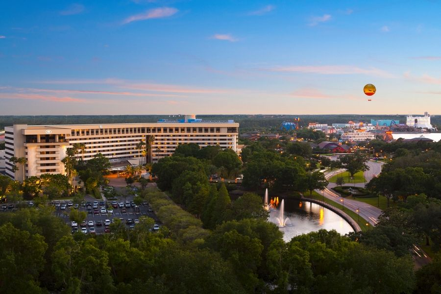 "Hilton Orlando Lake Buena Vista is one of seven properties offering special ""Fall Family Fun Rates"" Nov. 1-Dec. 23."