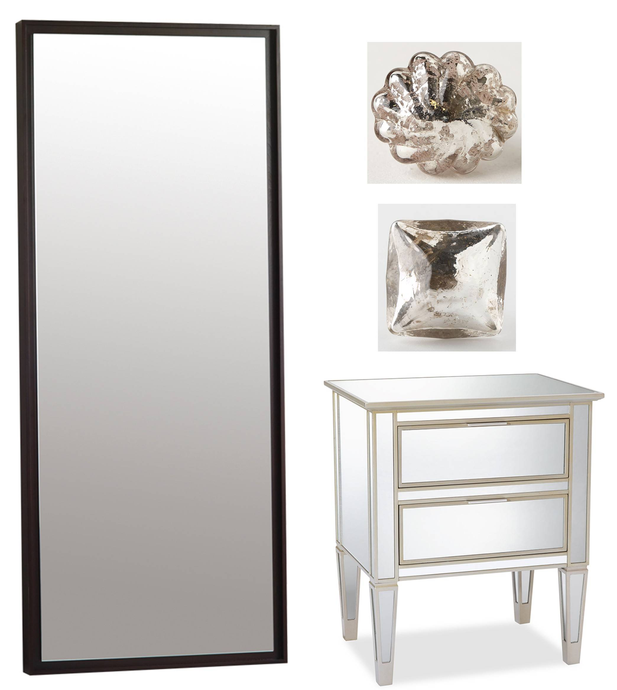 Mirrors Used Properly Can Make A Small Living Space Live Large. Shown Are,  Clockwise