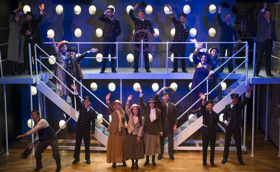 "Griffin Theatre Company's revives a chamber version of the musical ""Titanic."""