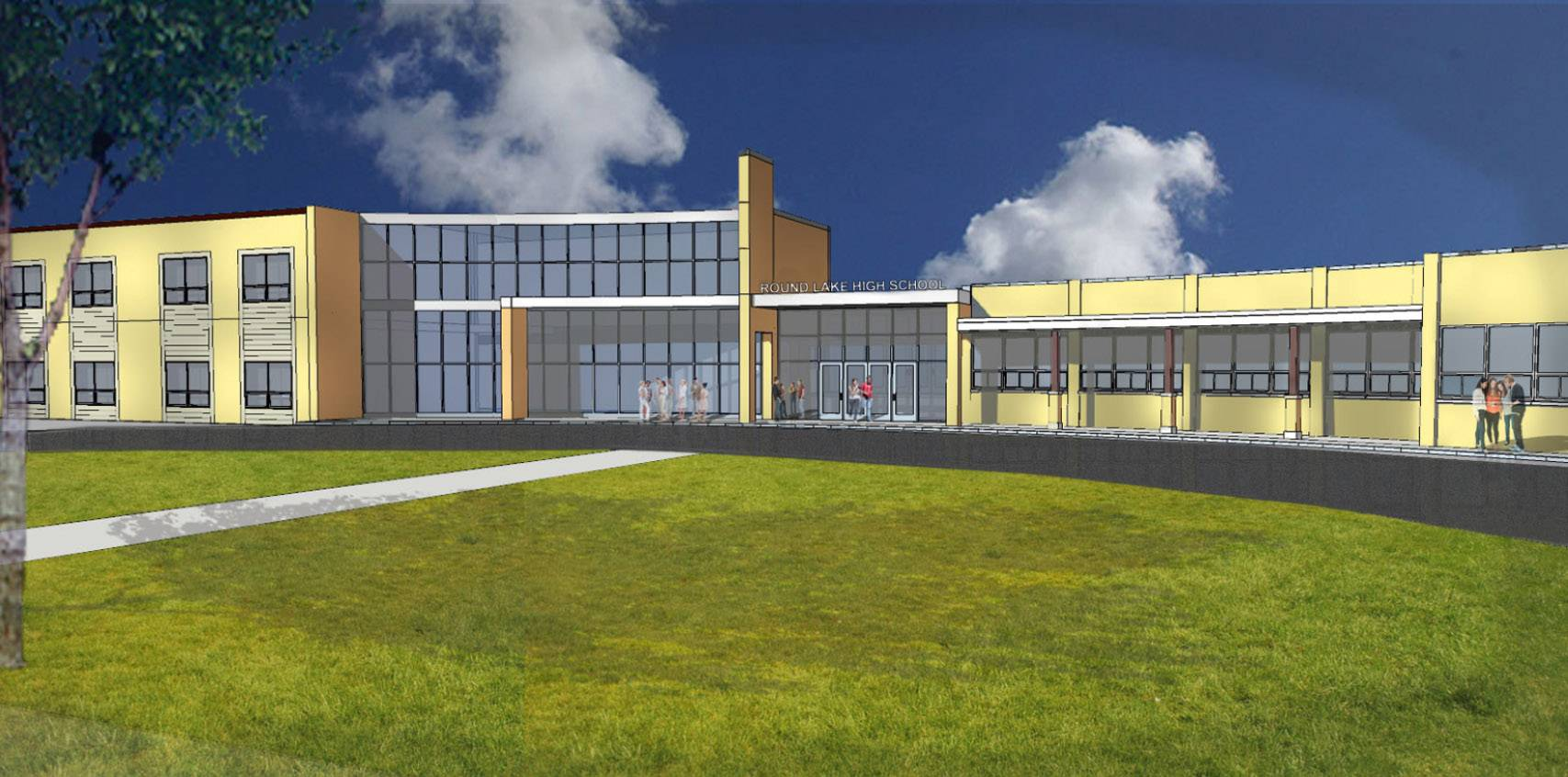 District 116 preparing for Round Lake High School upgrade after referendum win