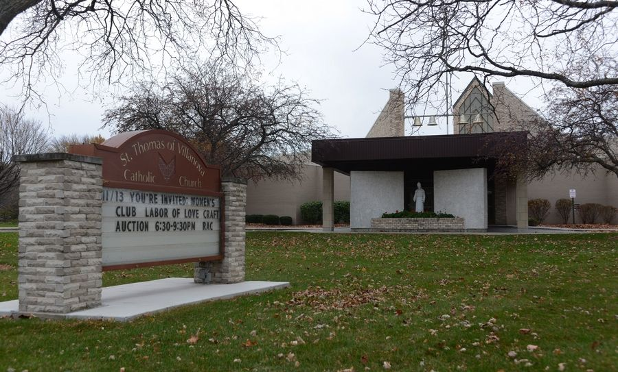Three priests who served at St. Thomas of Villanova Catholic Church in Palatine were among the 36 named Thursday in documents released Thursday detailing sex abuse claims against members of the clergy.