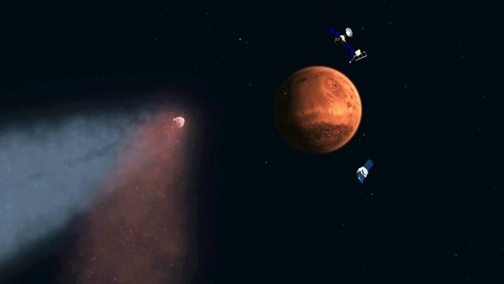 Роль MAVEN в исследовании марсианской атмосферы (2 фото)