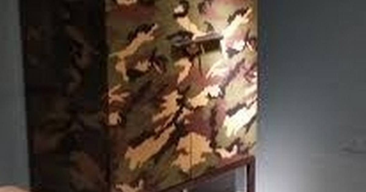 Camouflage Craze Finds Its Way Into Home Decor