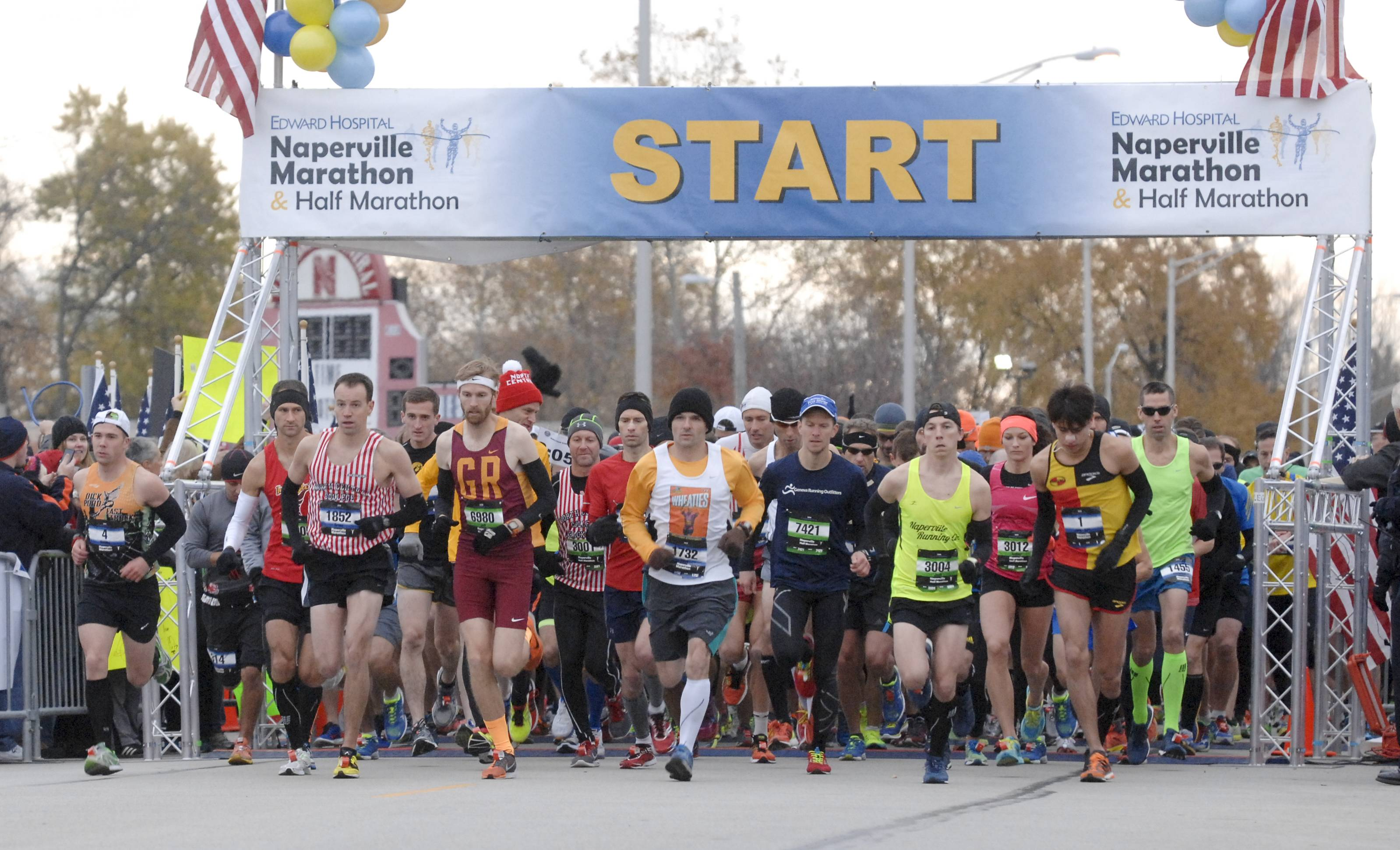 Inside Naperville's marathon from start to finish
